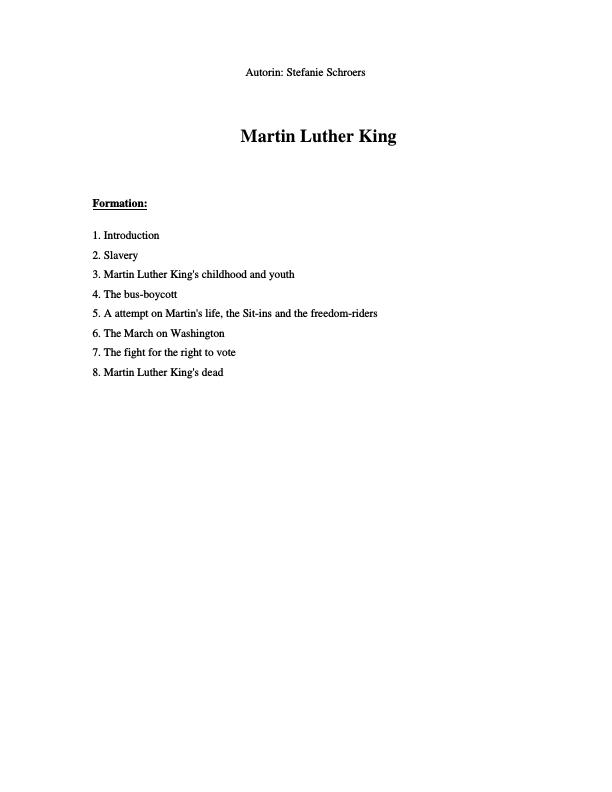 Title: King, Martin Luther