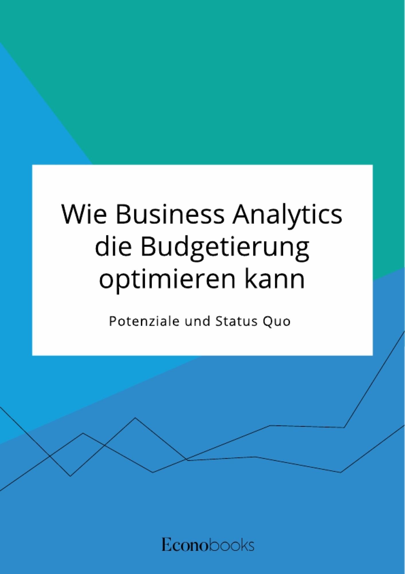 Titel: Wie Business Analytics die Budgetierung optimieren kann. Potenziale und Status Quo