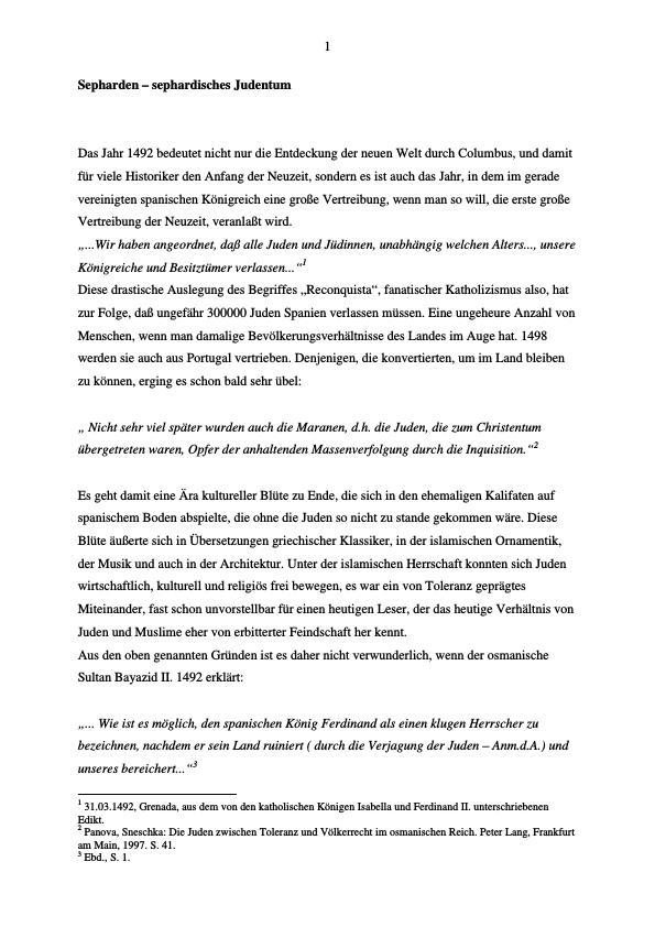 Titel: Ethnische und sprachliche Wurzeln Elias Canettis