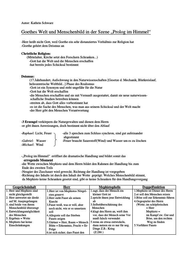 Titel: Goethe, Johann Wolfgang von - Faust - Teil 1