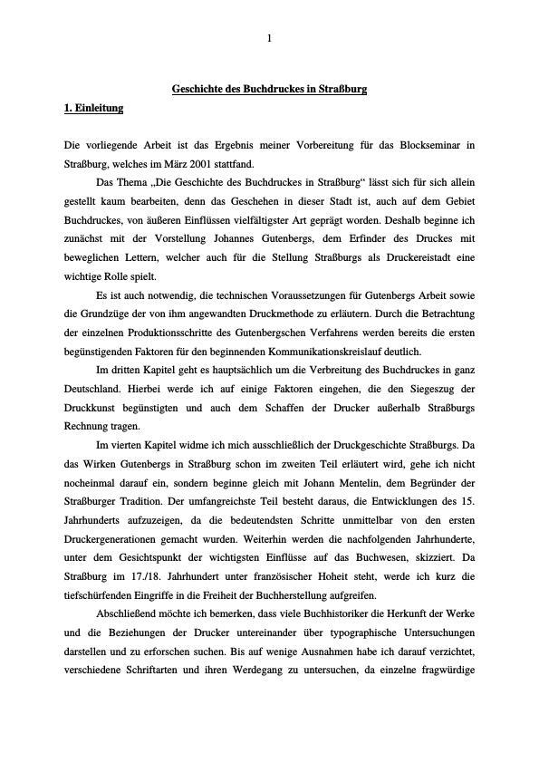 Titel: Geschichte des Buchdruckes in Straßburg