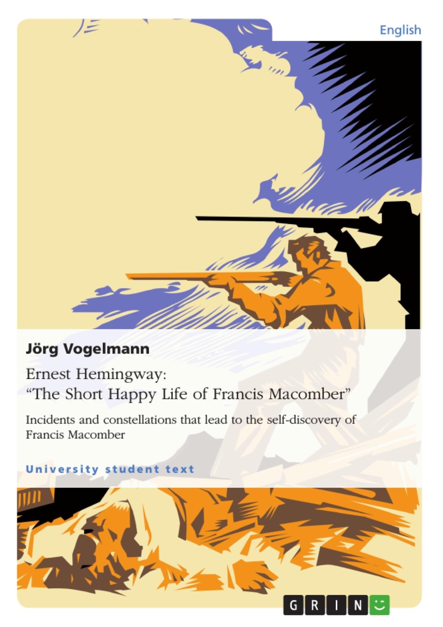 the short happy life of francis macomber masculinity