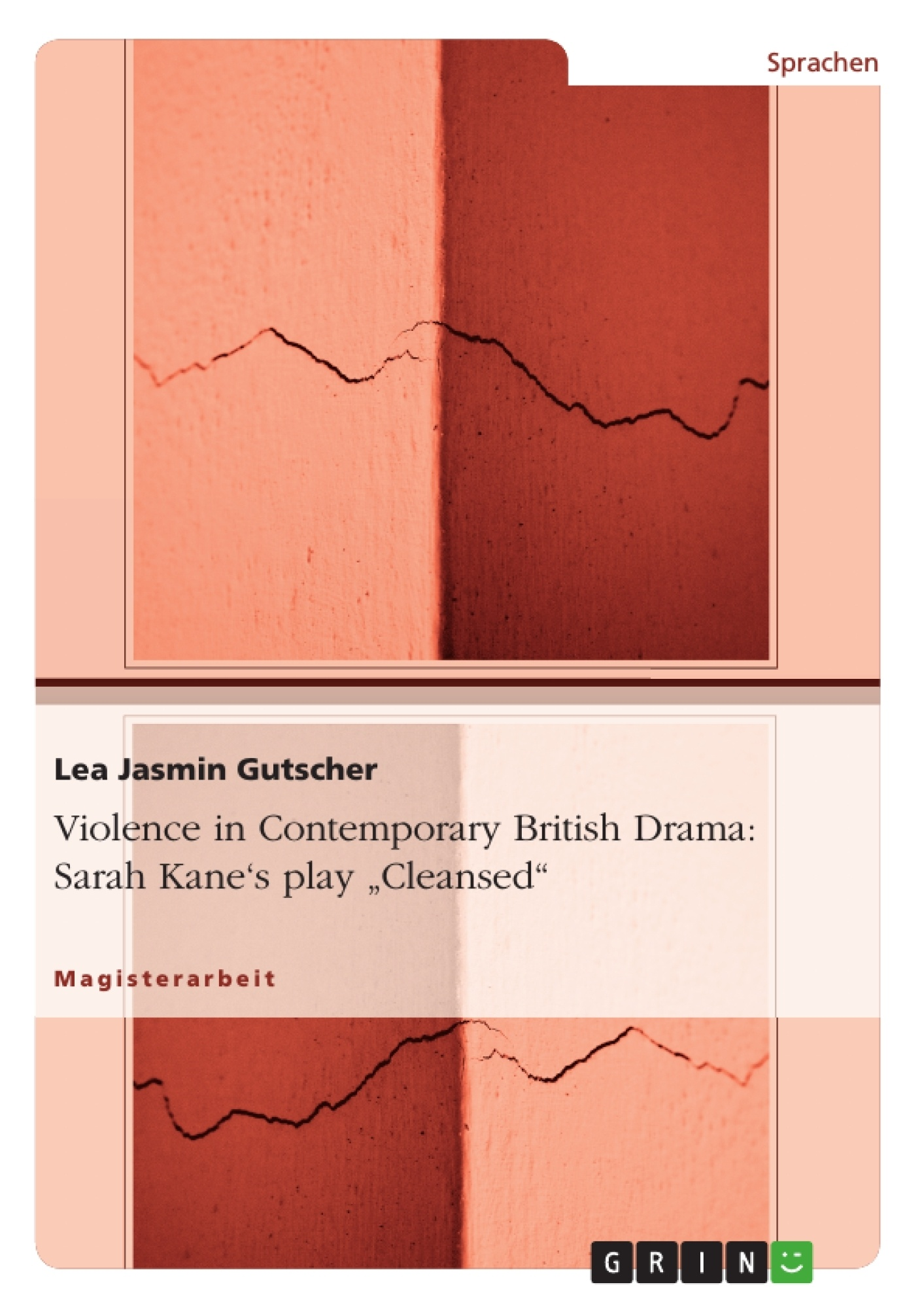 Violence In Contemporary British Drama Sarah Kanes Play Cleansed