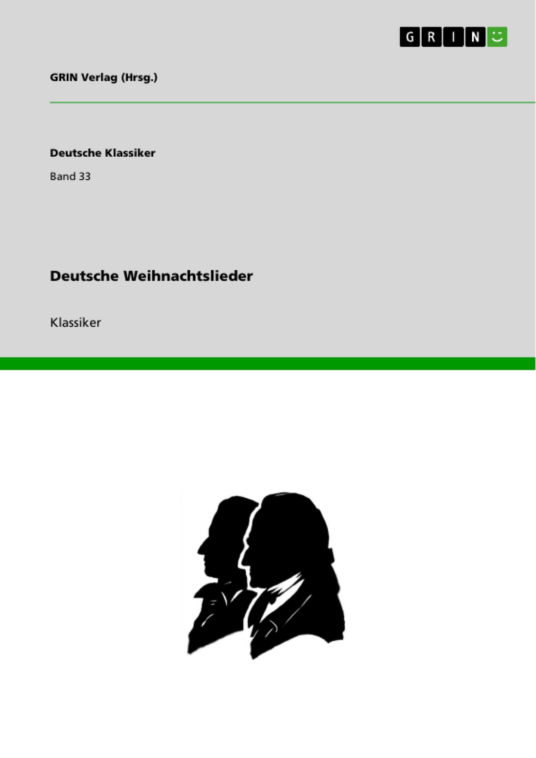 Weihnachtslieder Deutsch Kostenlos.Grin Deutsche Weihnachtslieder