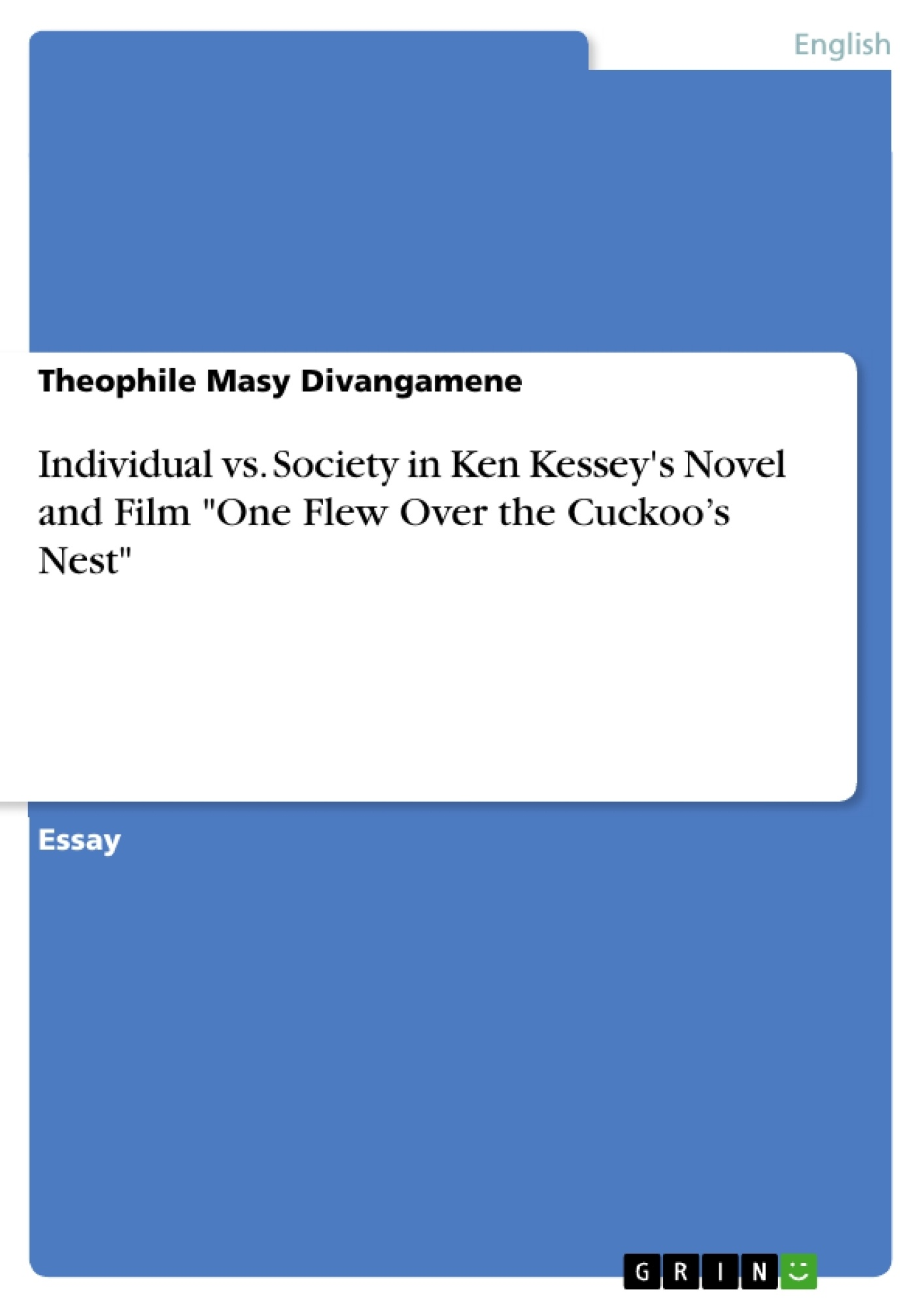 One Flew Over The Cuckoos Nest Epub