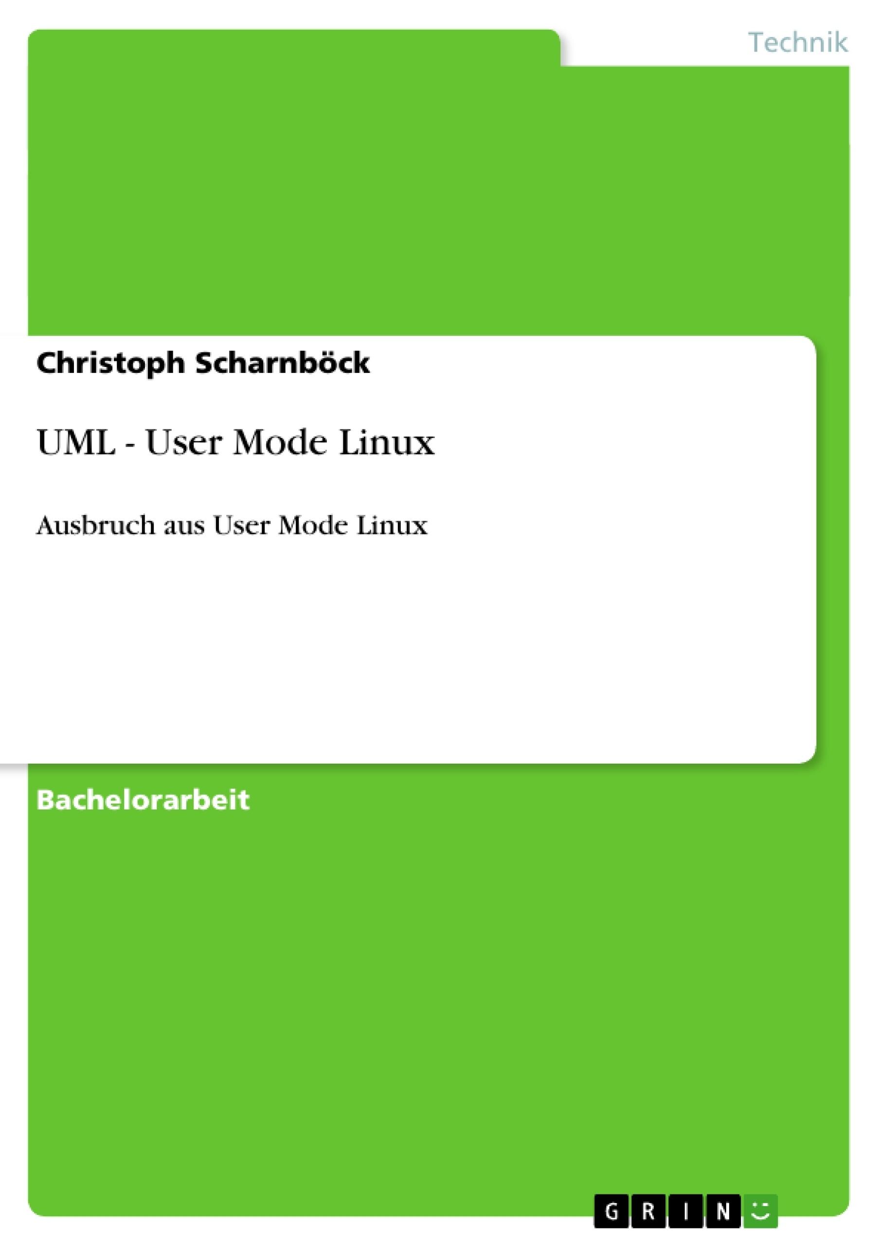 Titel: UML - User Mode Linux