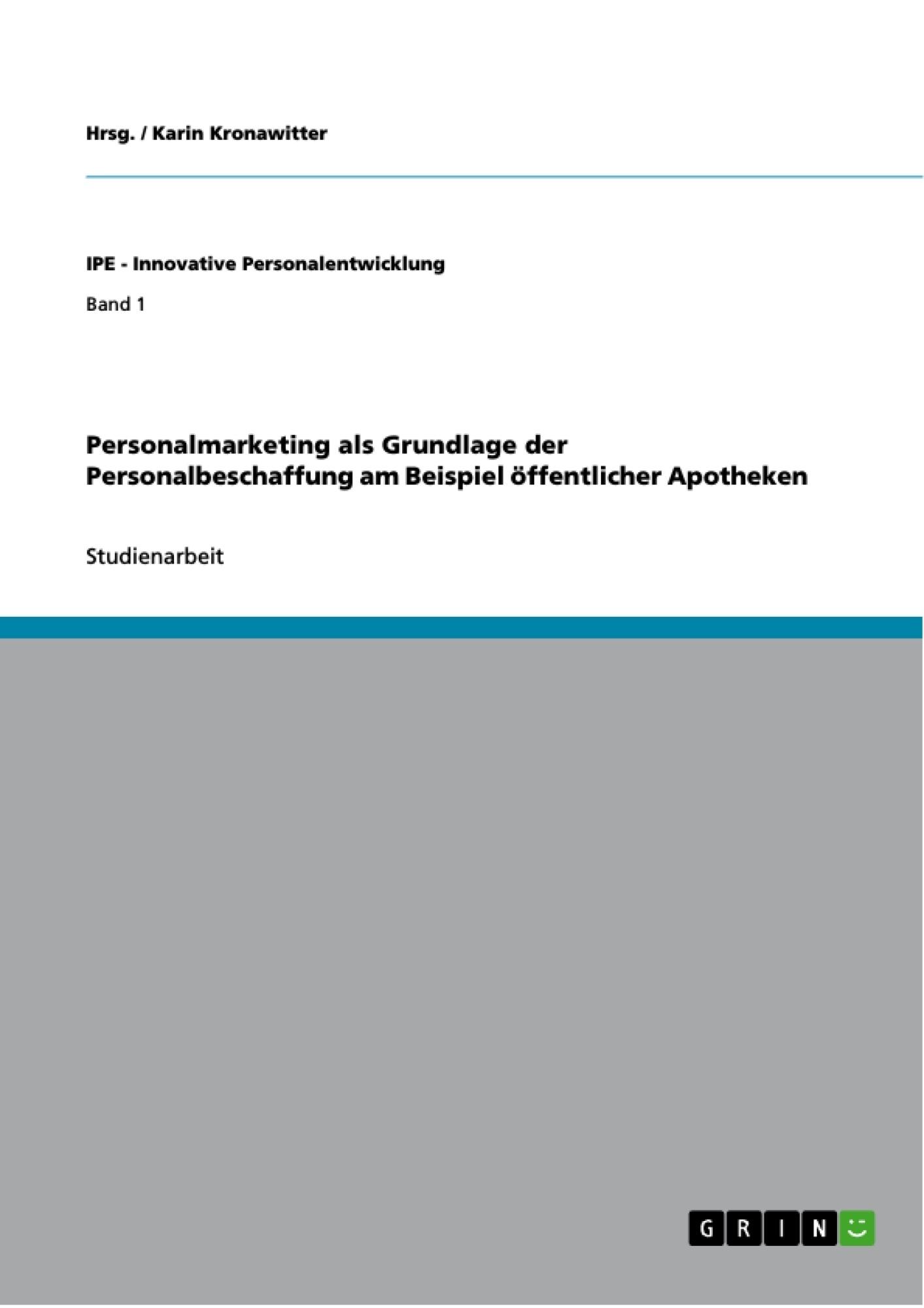 personalmarketing als grundlage der personalbeschaffung am masterarbeit hausarbeit bachelorarbeit verffentlichen - Personalentwicklungskonzept Beispiel