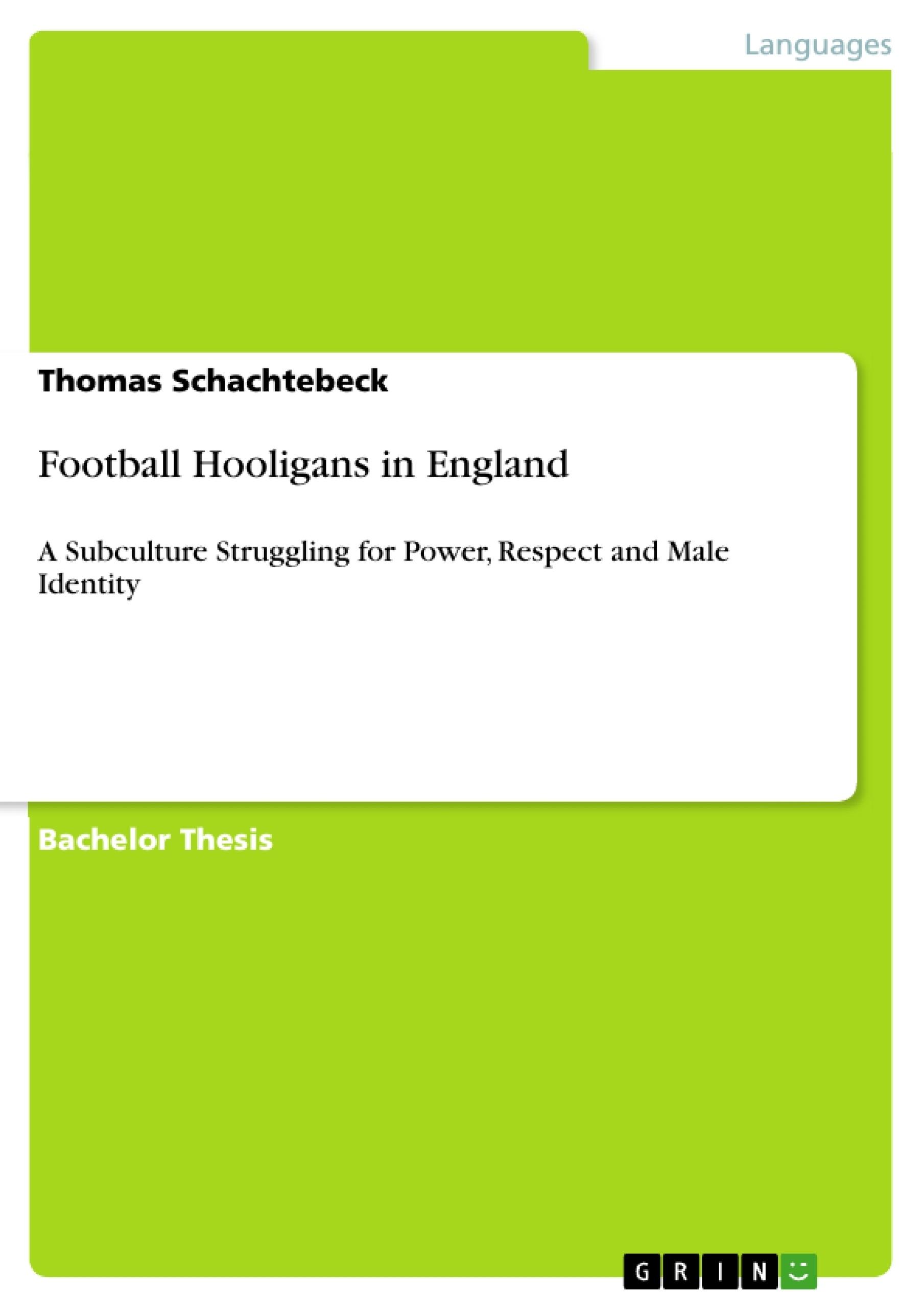 Title: Football Hooligans in England