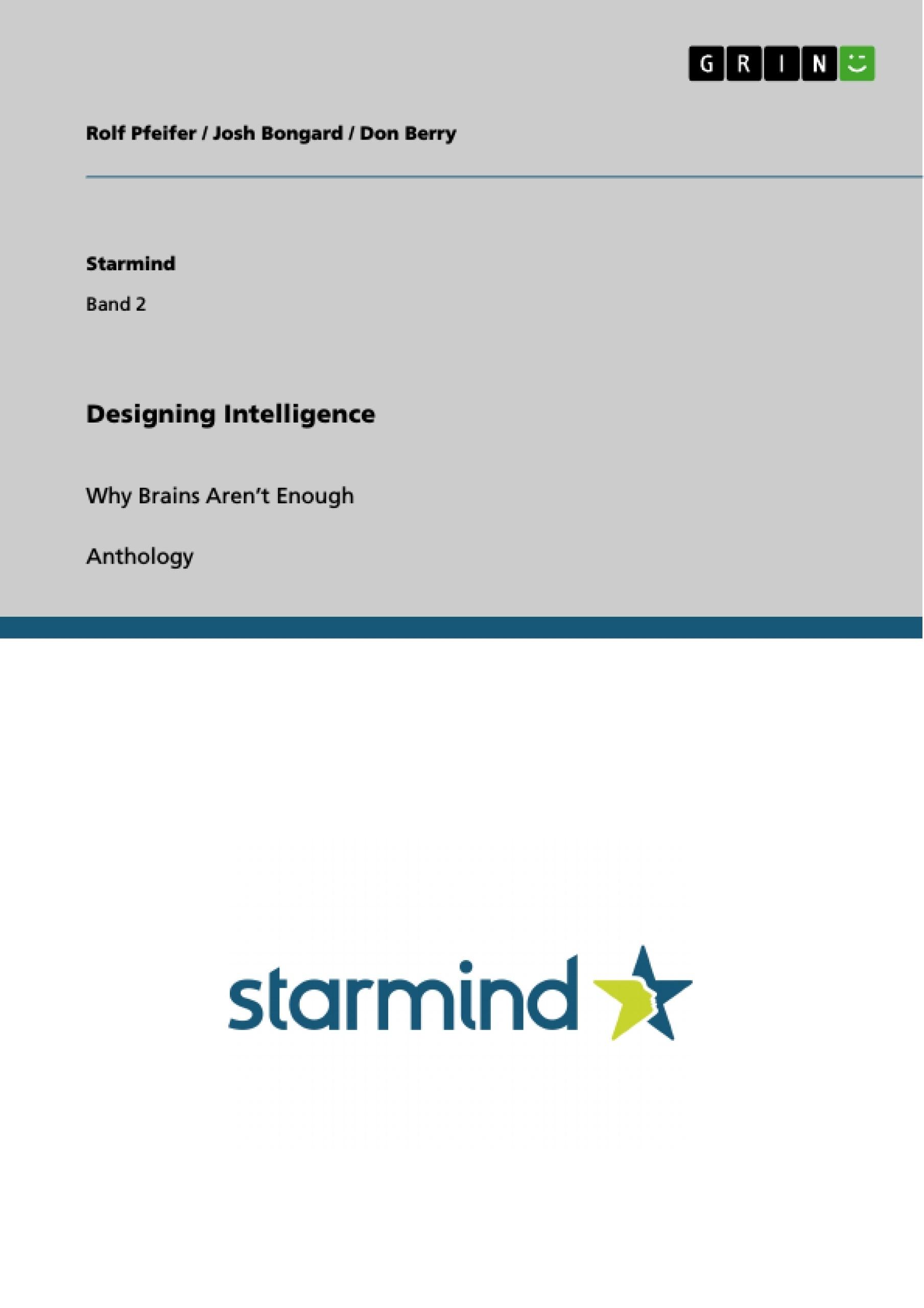 Title: Designing Intelligence