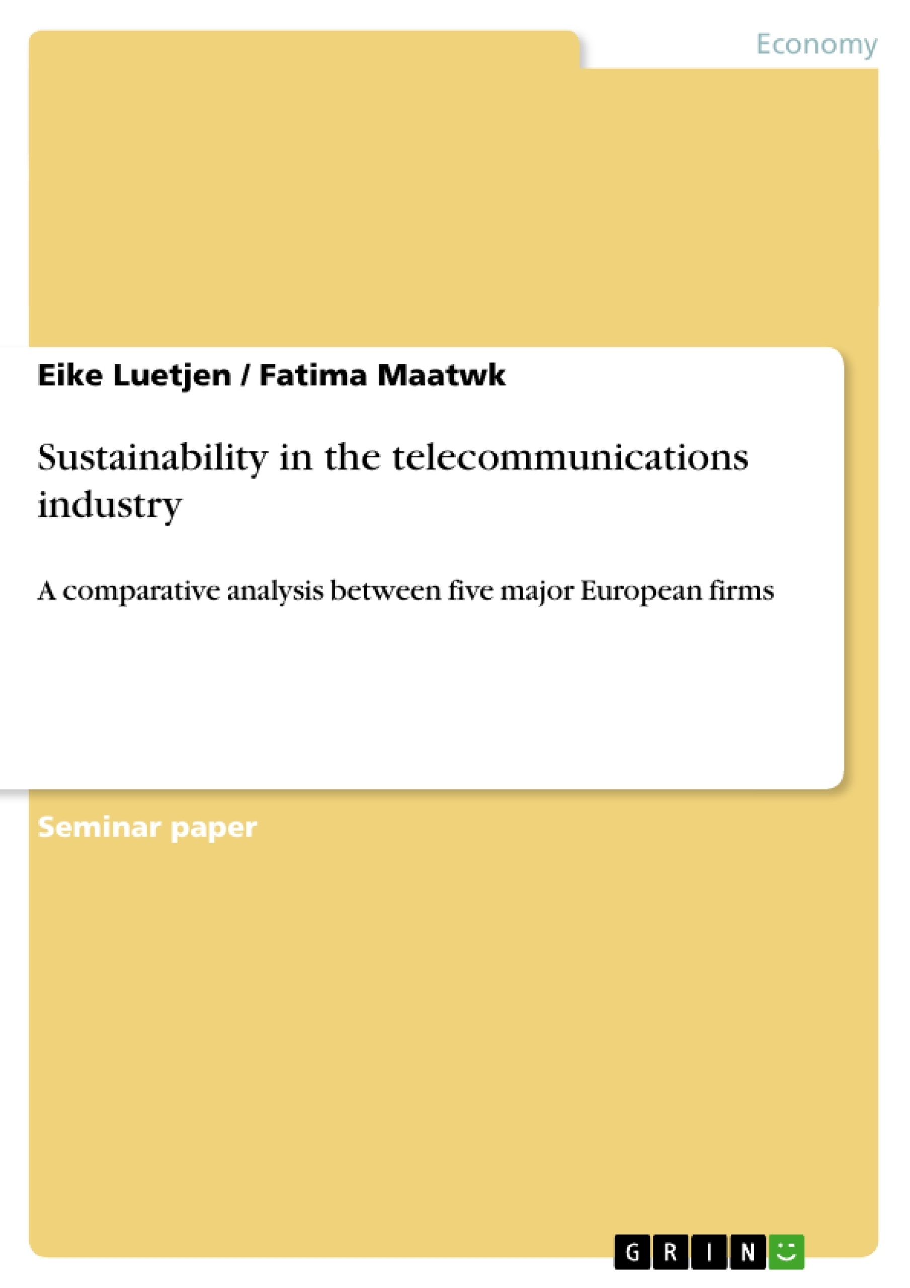 Master thesis in telecommunication germany