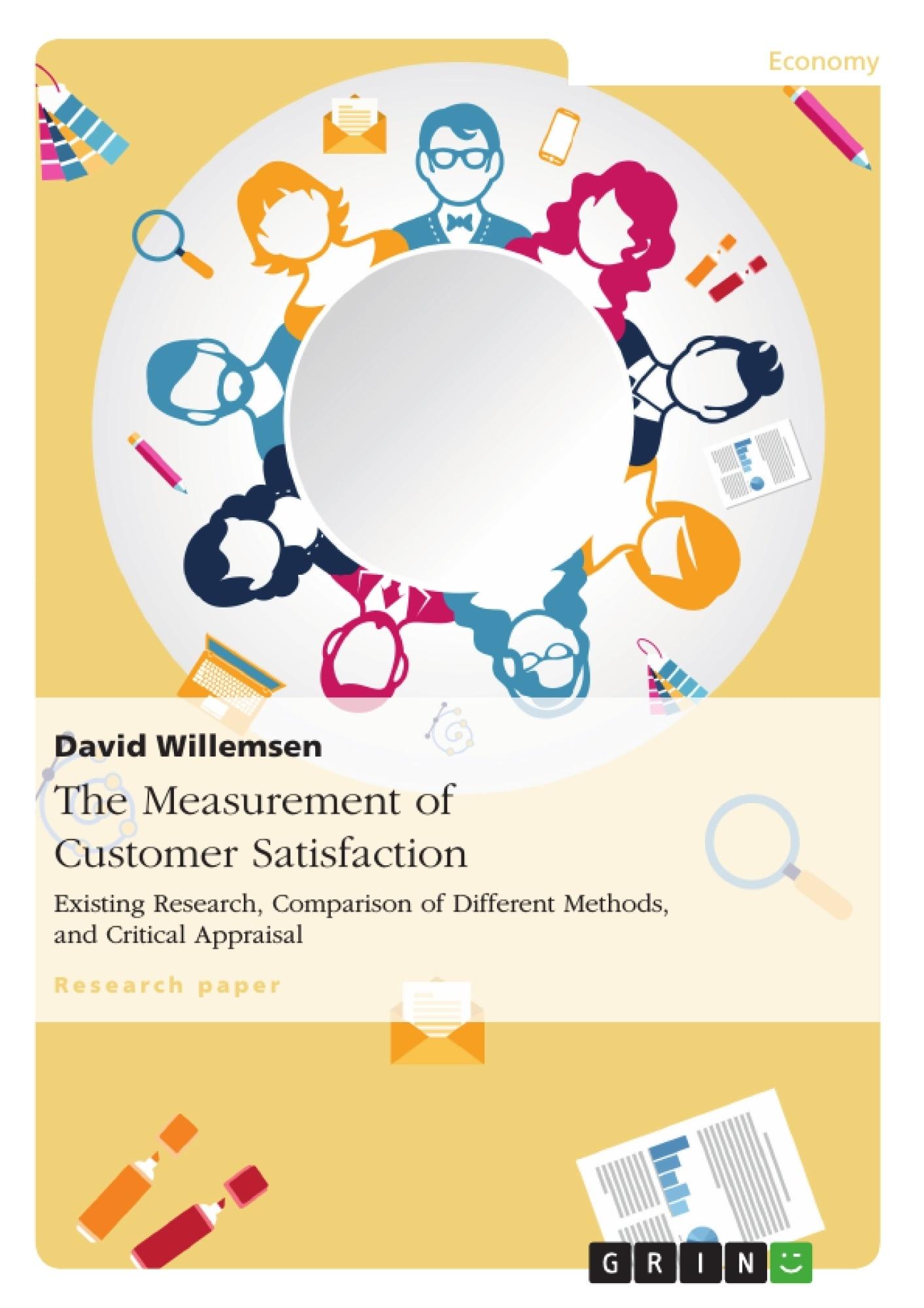 Title: The Measurement of Customer Satisfaction