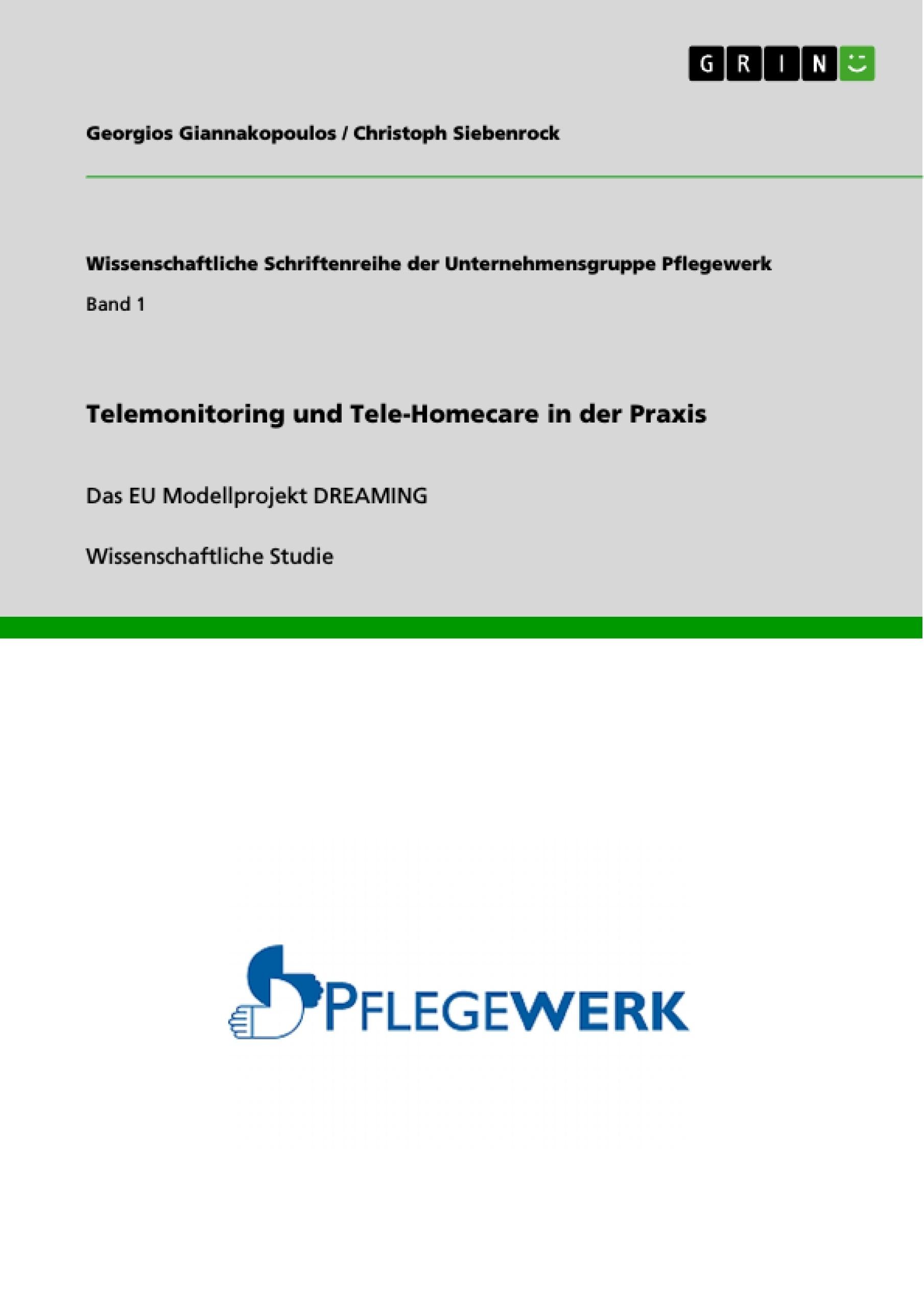 Titel: Telemonitoring und Tele-Homecare in der Praxis