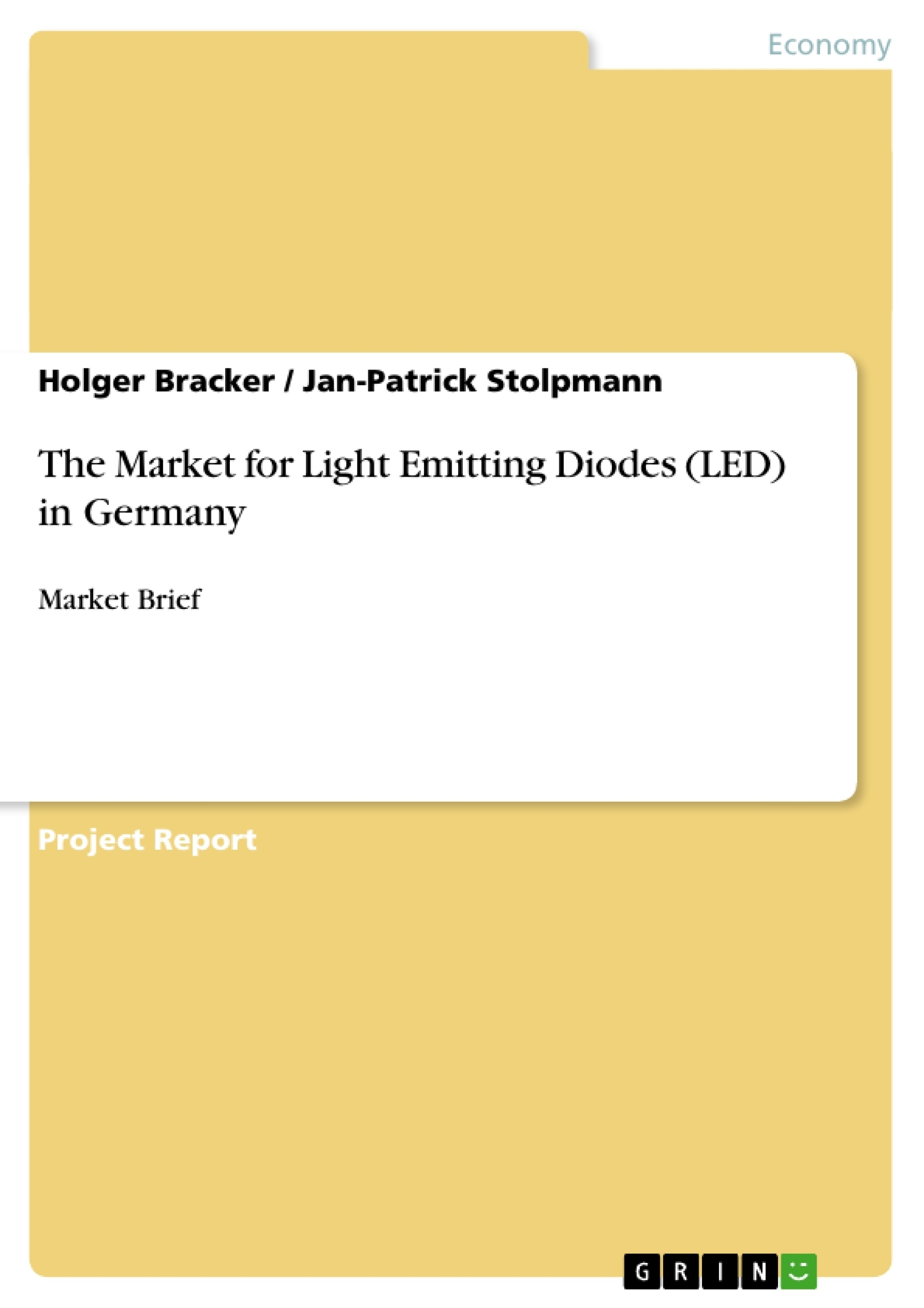 Title: The Market for Light Emitting Diodes (LED) in Germany