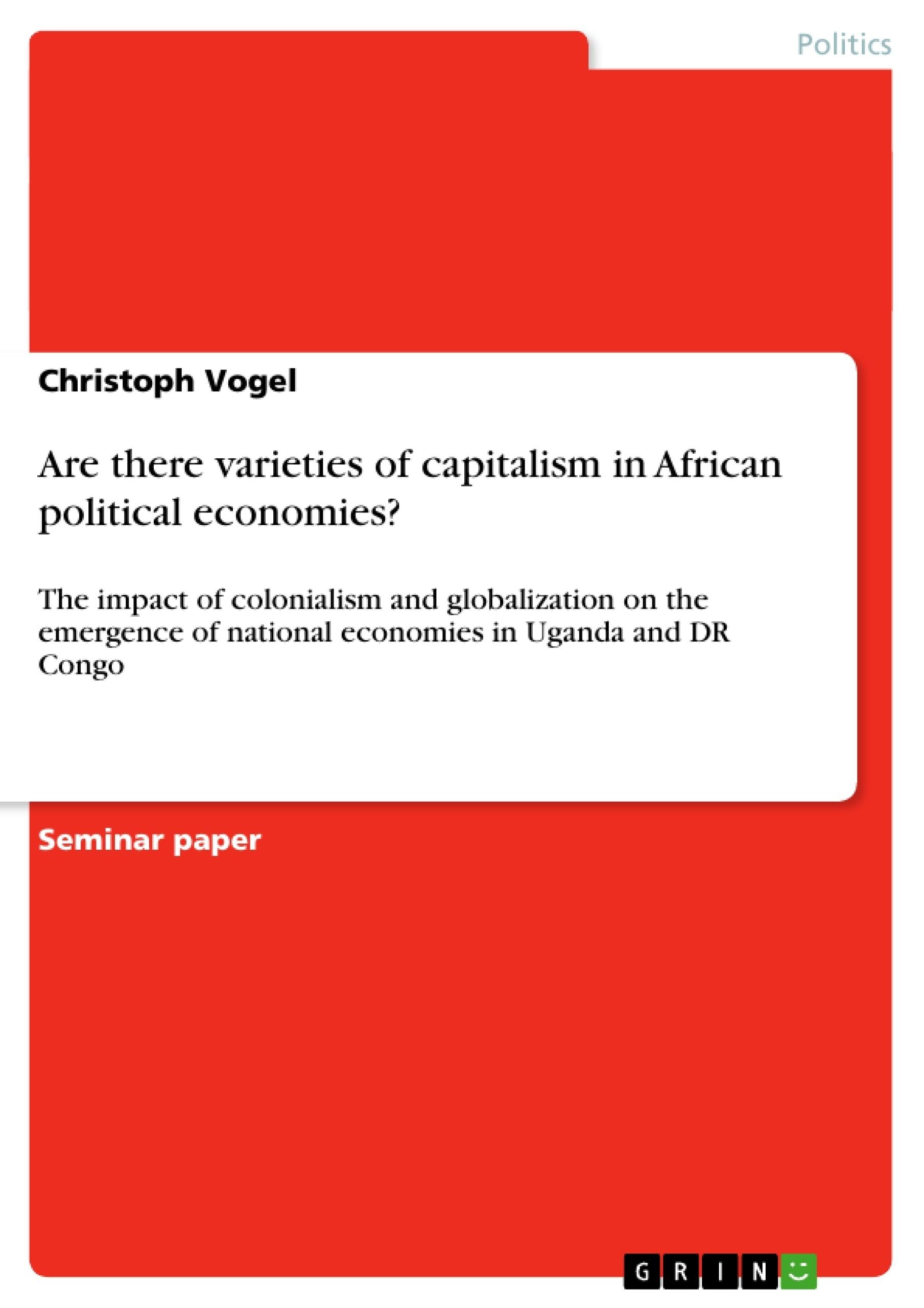 varieties of capitalism essay
