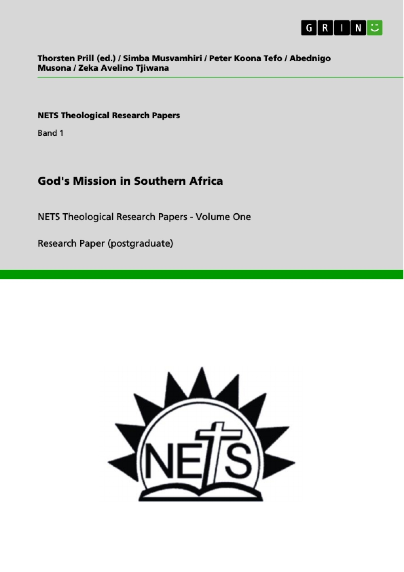 Title: God's Mission in Southern Africa