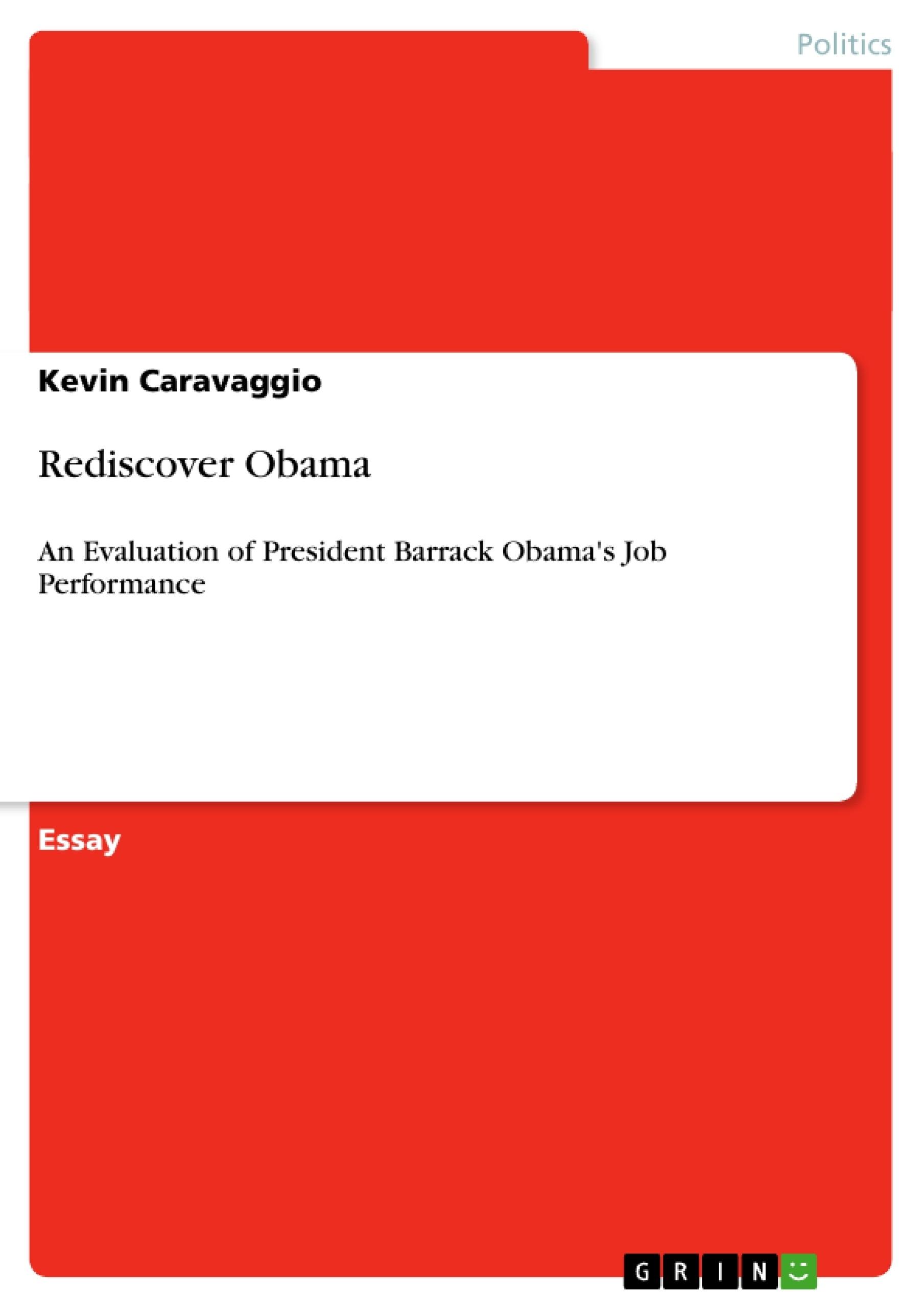 Title: Rediscover Obama