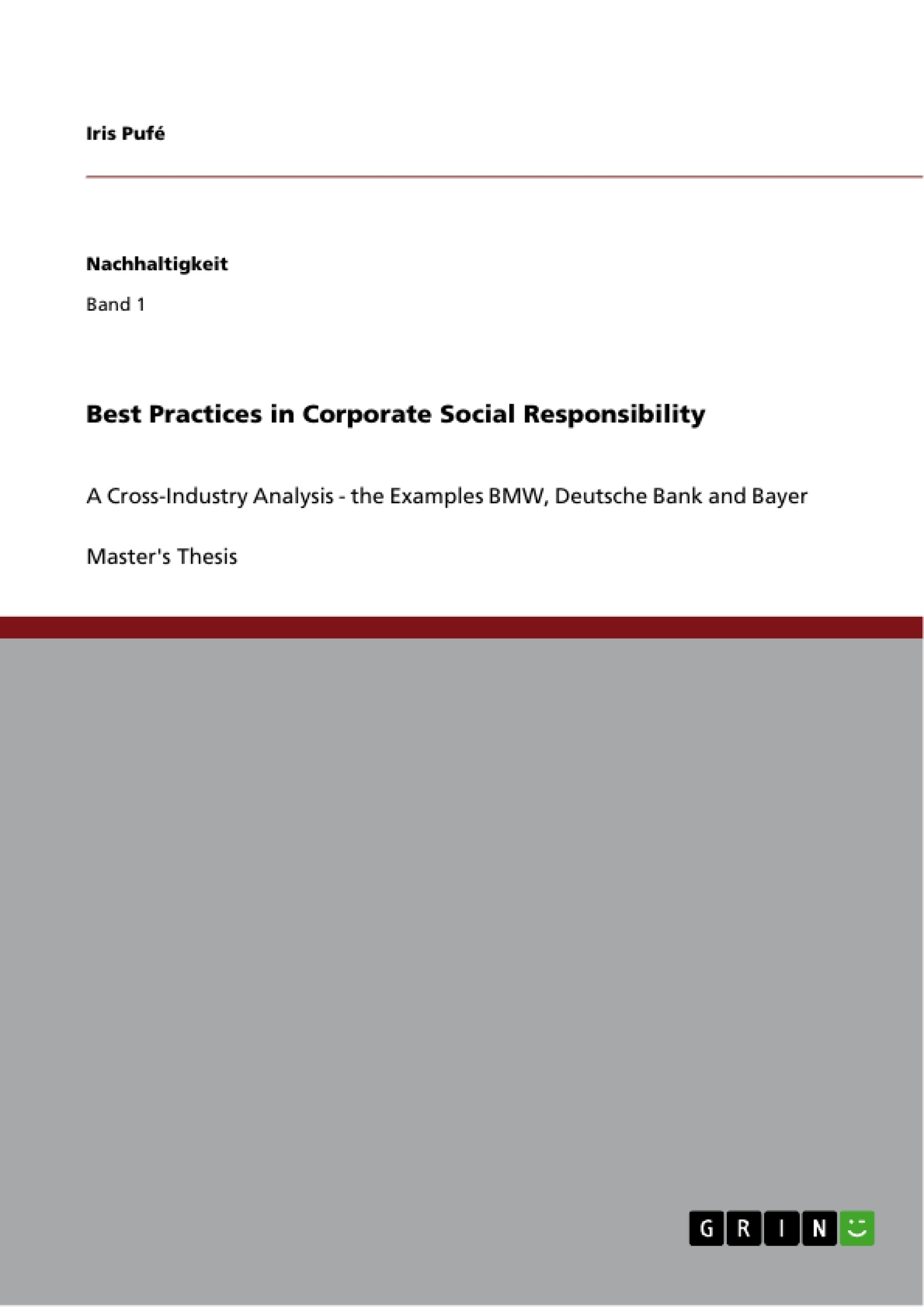 Best Practices In Corporate Social Responsibility Publish Your