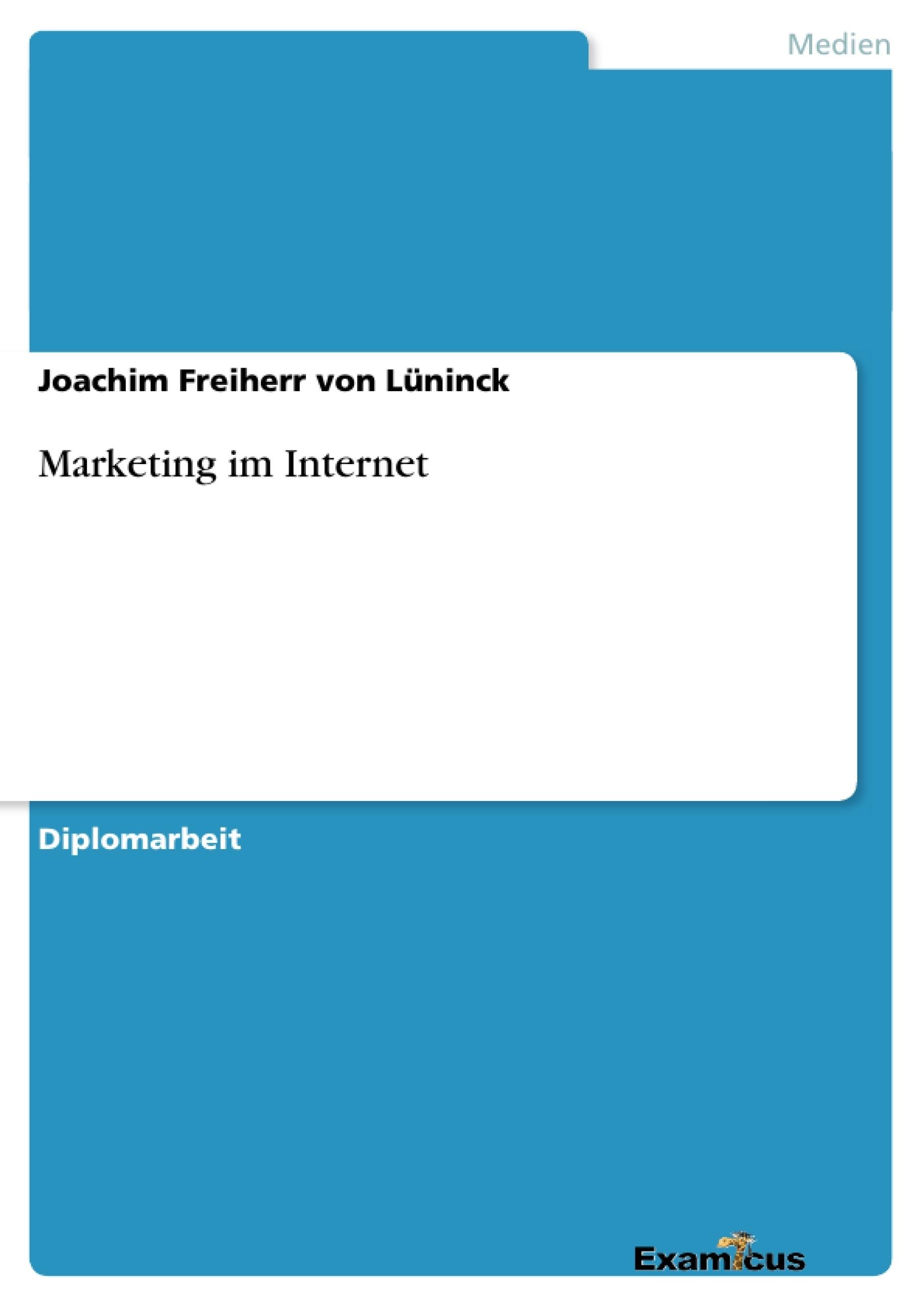 Titel: Marketing im Internet