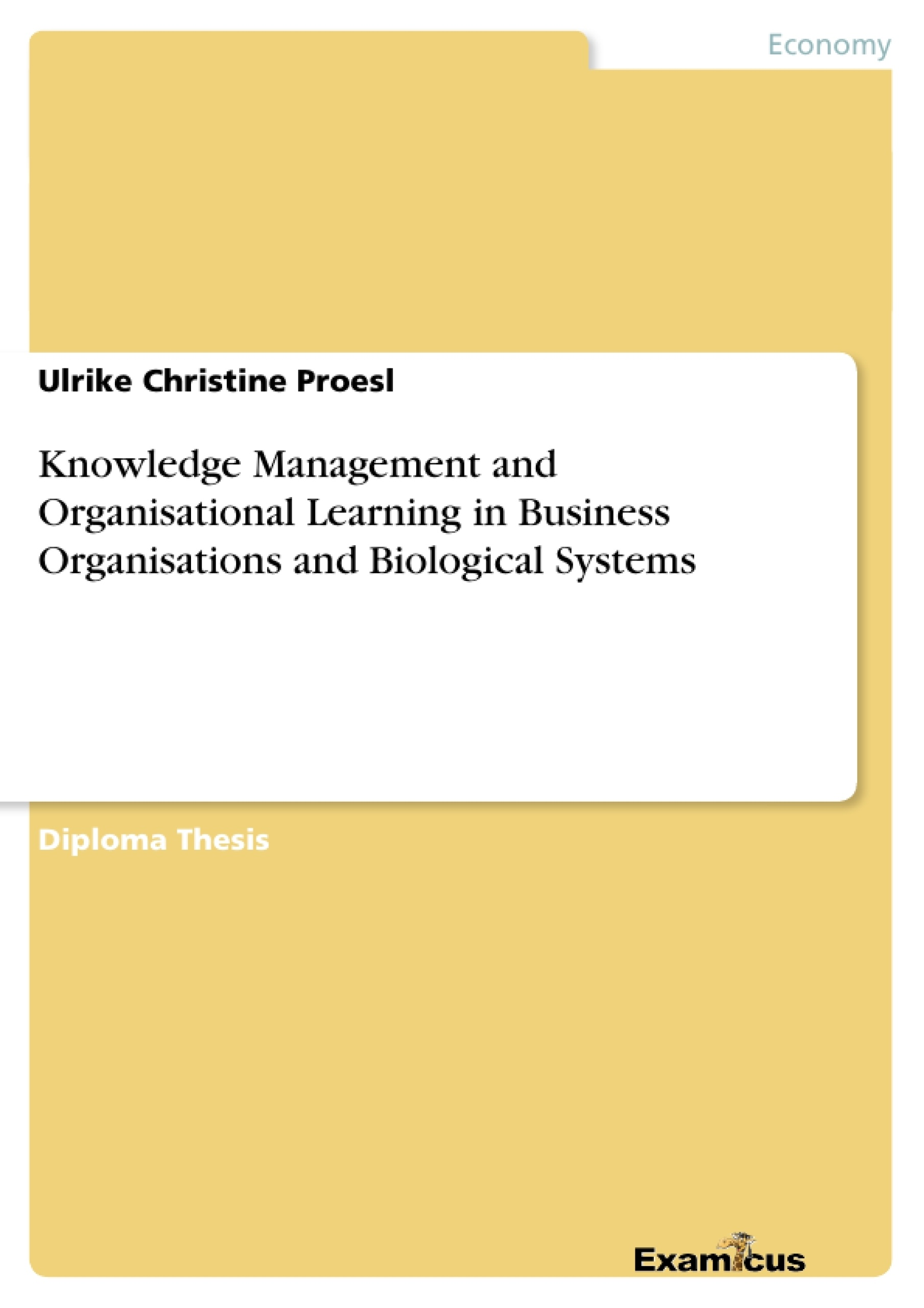 Knowledge Management And Organisational Learning In Business