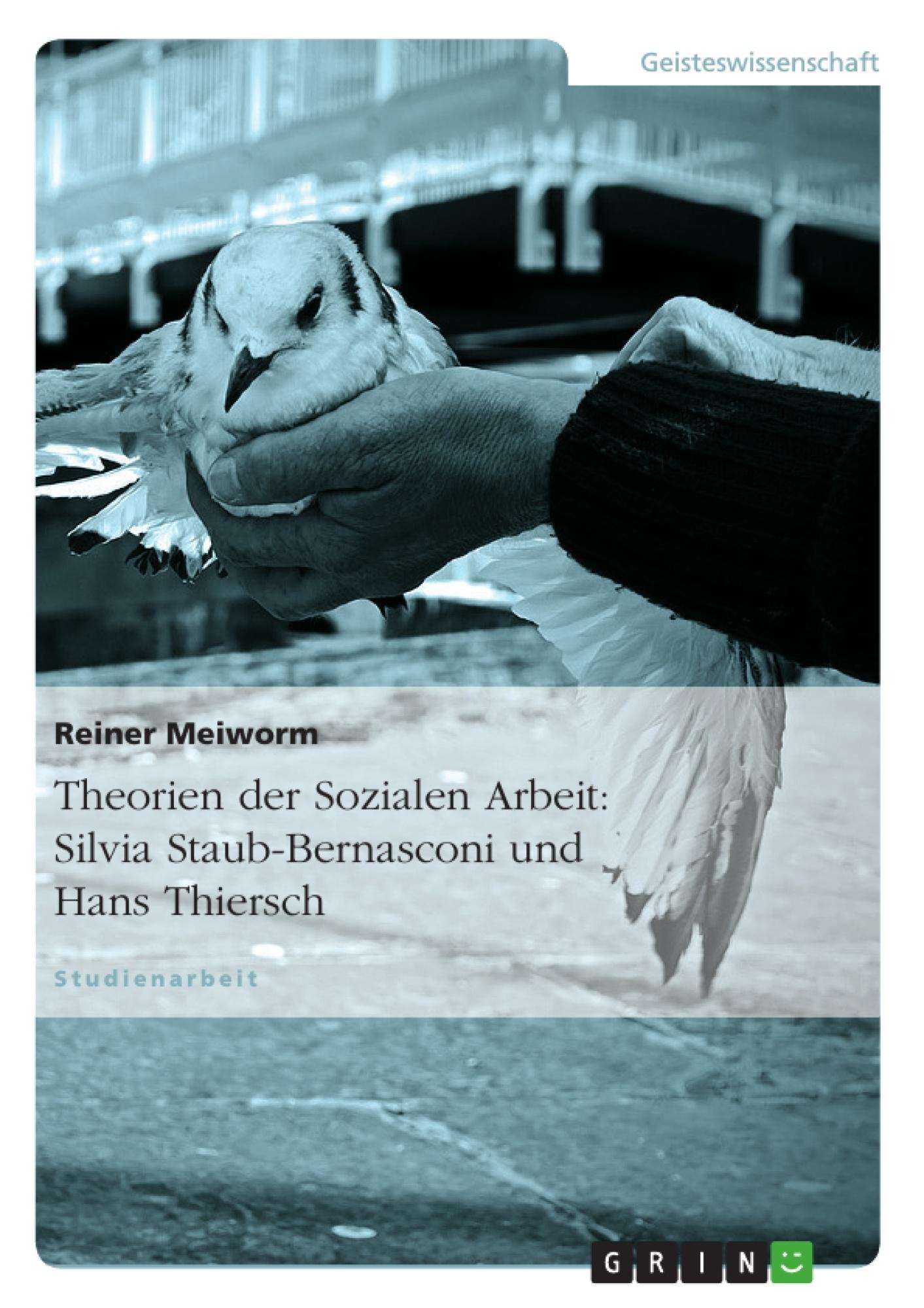 Titel: Theorien der Sozialen Arbeit: Silvia Staub-Bernasconi und Hans Thiersch