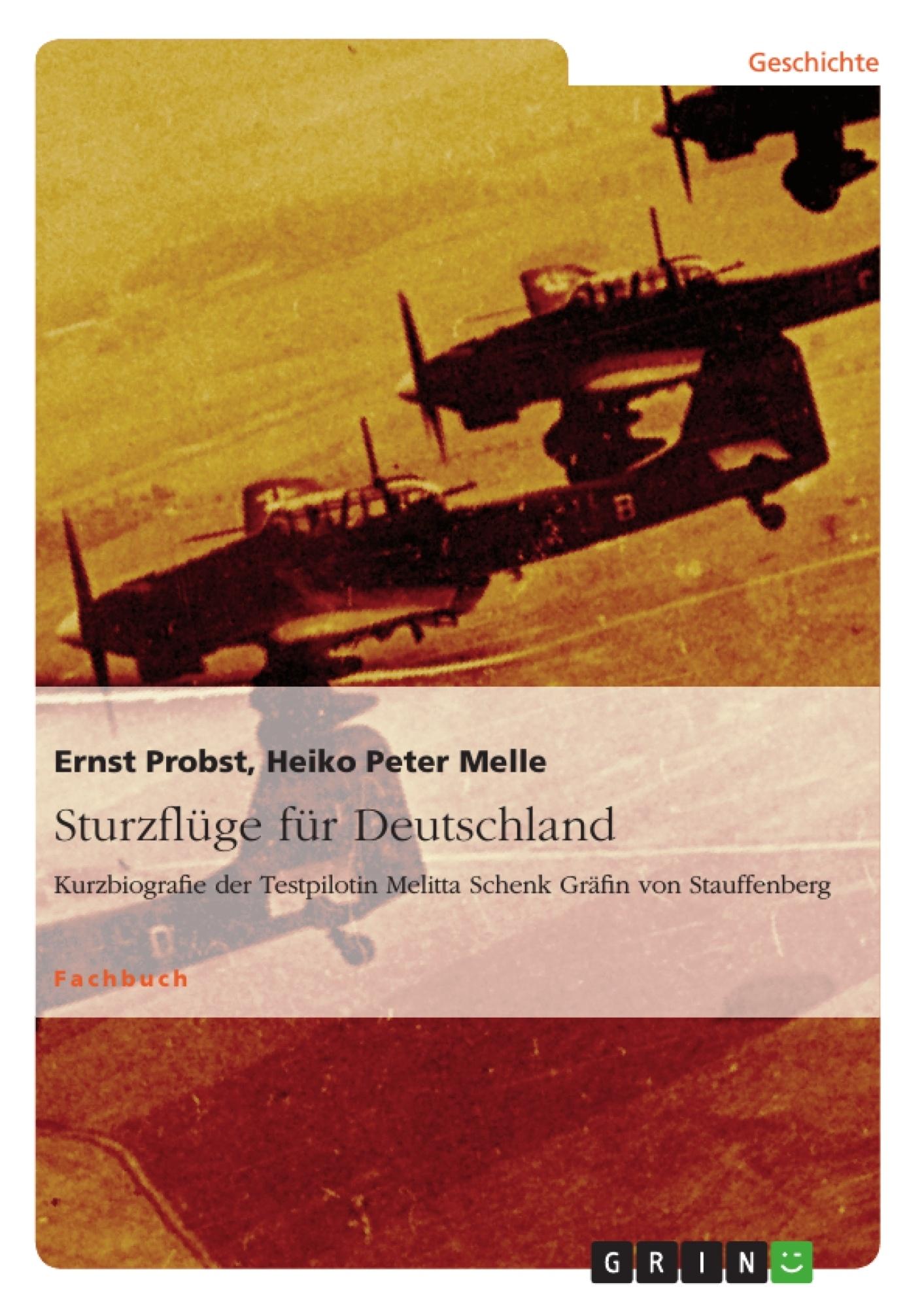 Titel: Sturzflüge für Deutschland