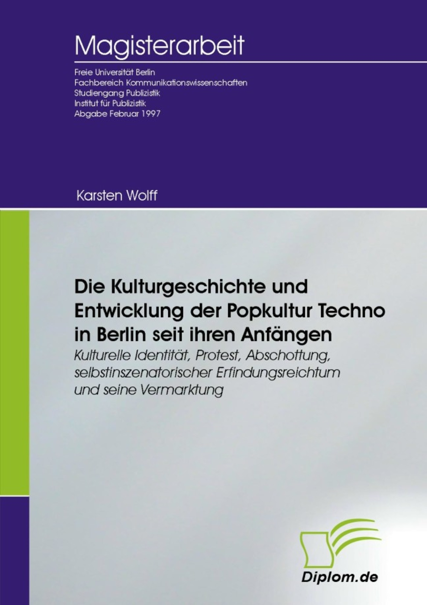 Die Kulturgeschichte und Entwicklung der Popkultur Techno in ...