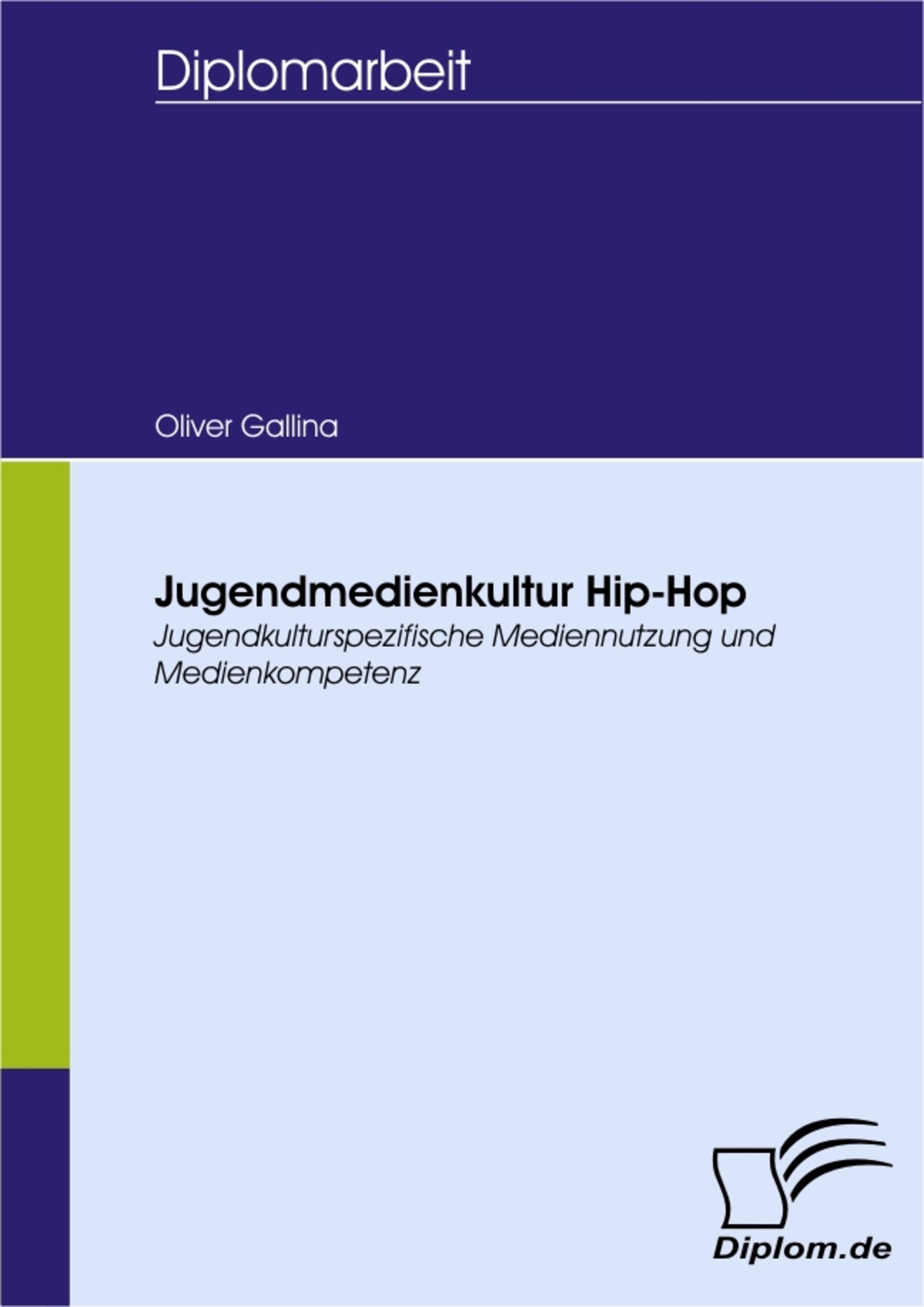 Jugendmedienkultur Hip-Hop