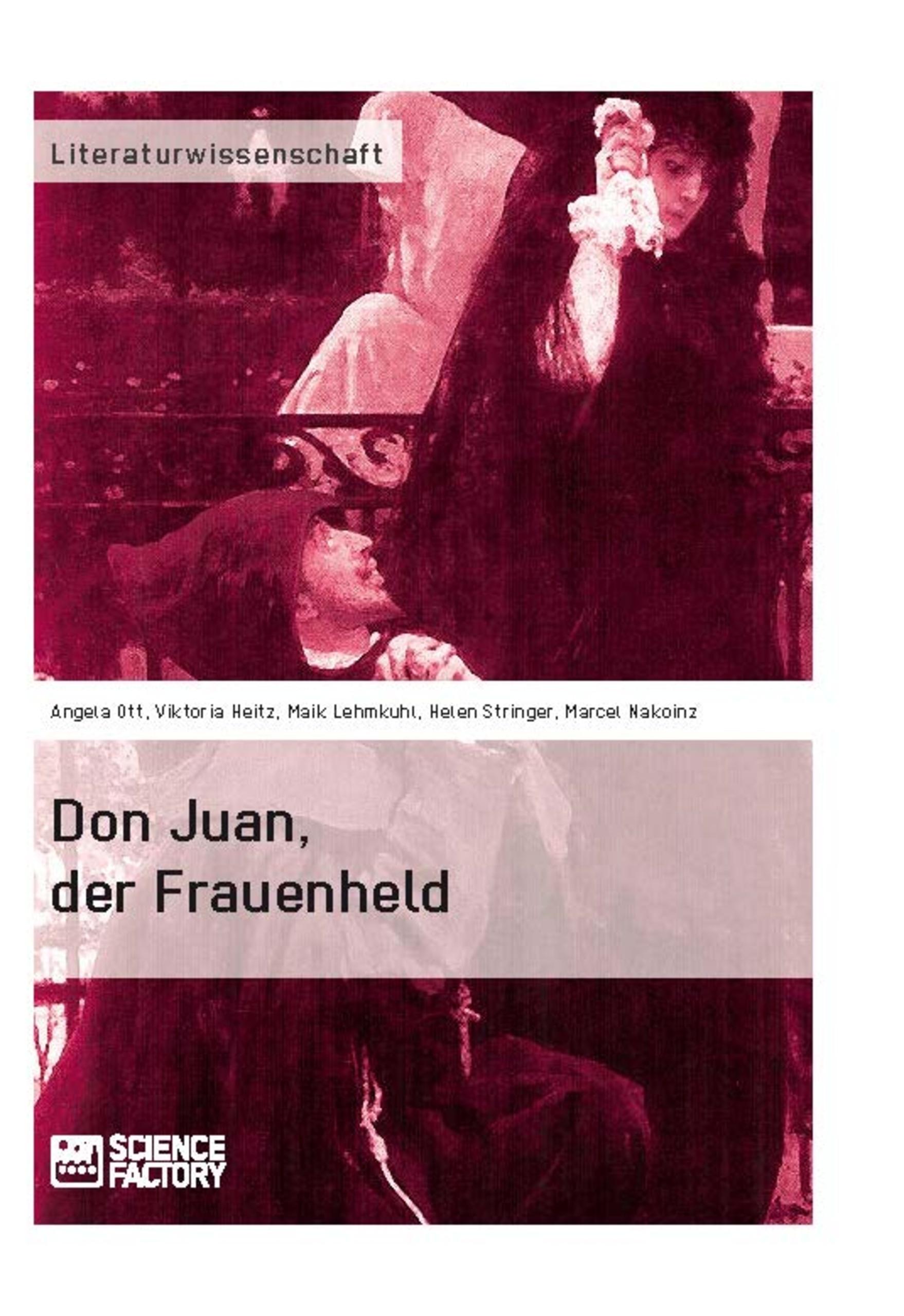 Titel: Don Juan, der Frauenheld