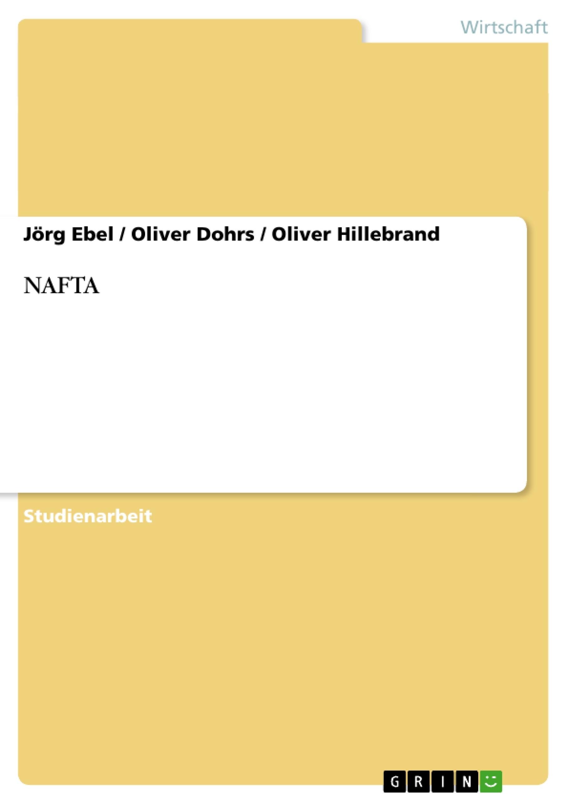 Titel: NAFTA