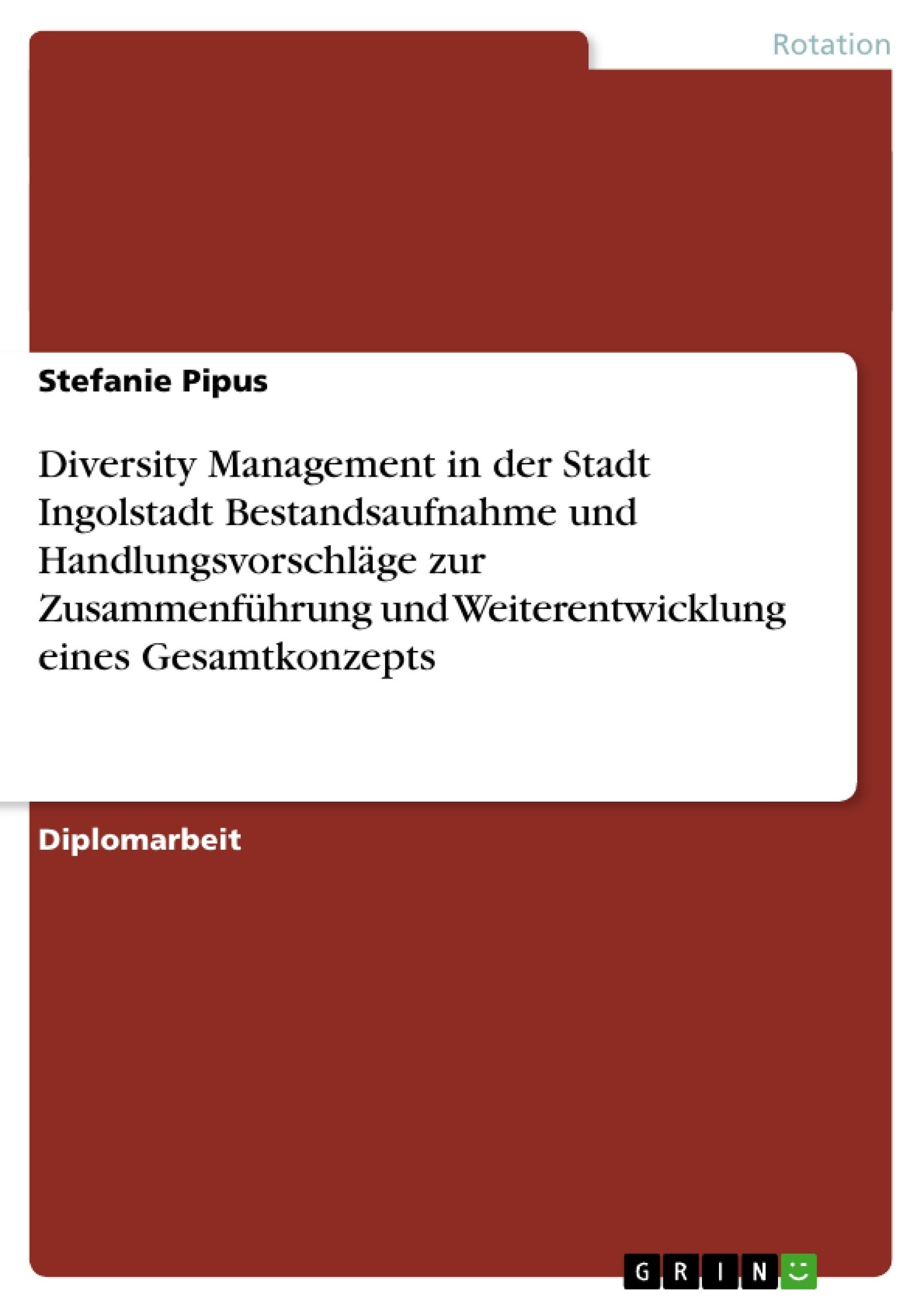 Titel: Diversity Management in der Stadt Ingolstadt