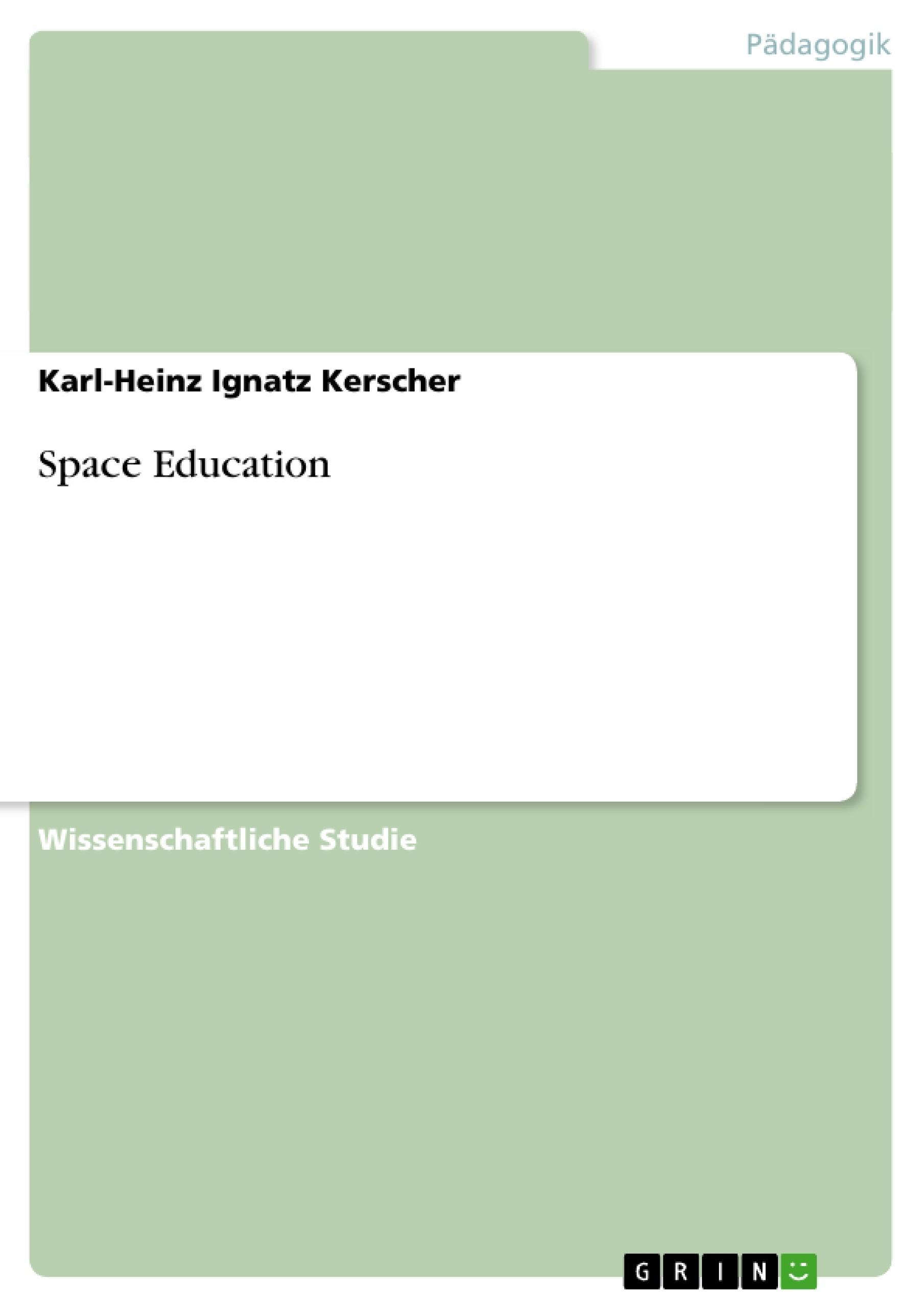 Titel: Space Education