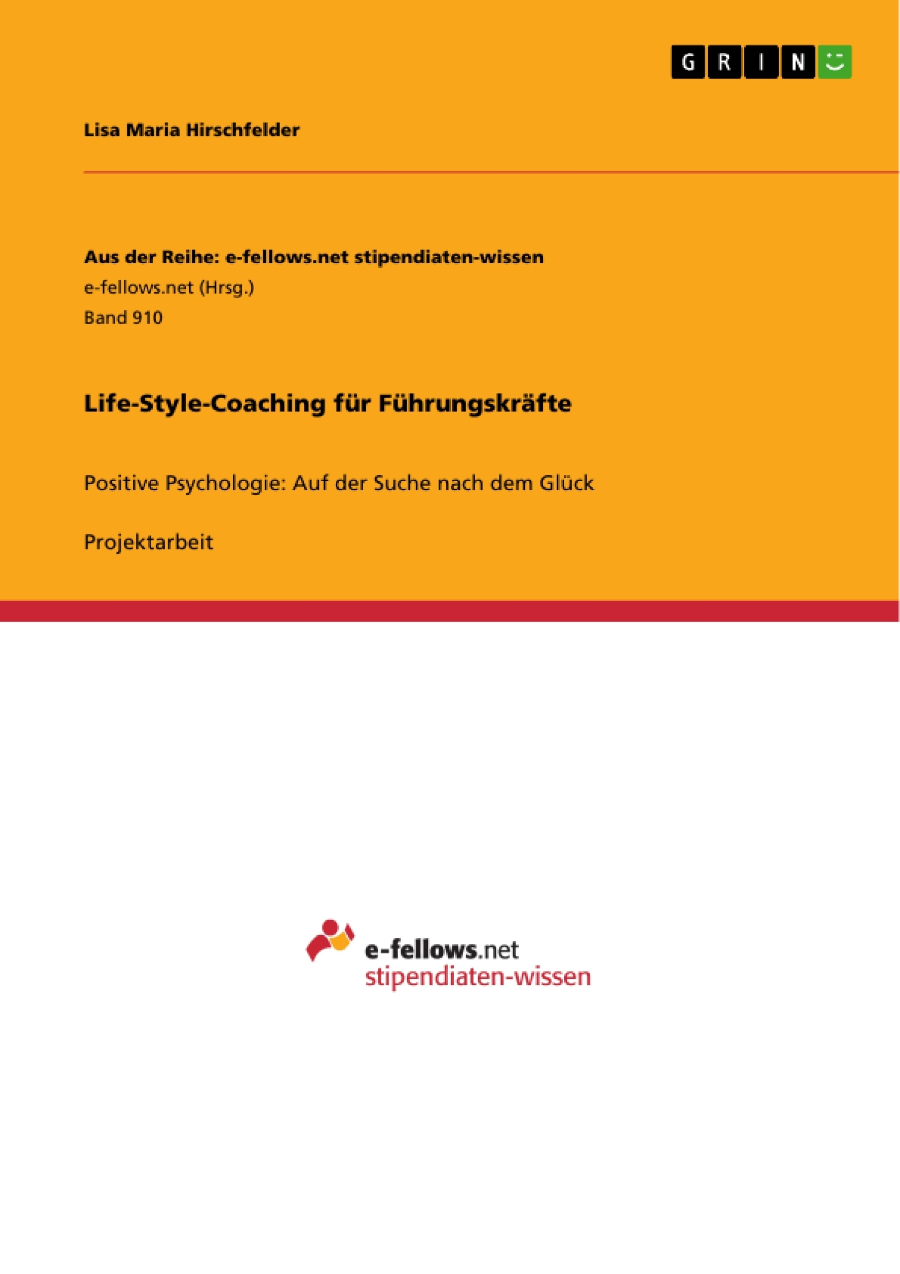 Titel: Life-Style-Coaching für Führungskräfte