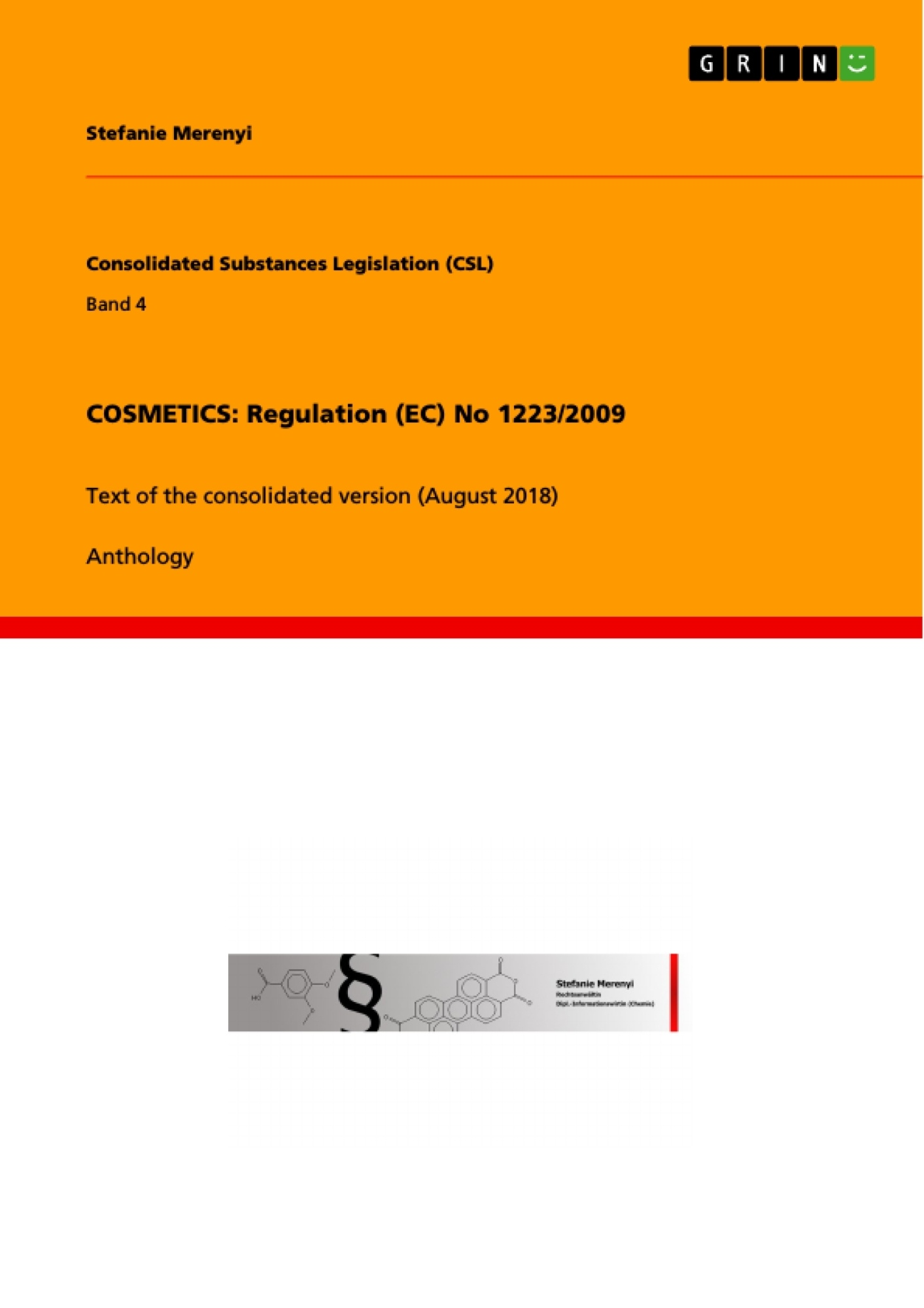 Title: COSMETICS: Regulation (EC) No 1223/2009