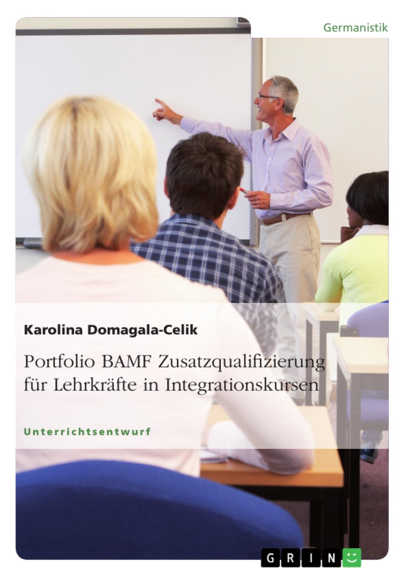 Portfolio BAMF Zusatzqualifizierung für Lehrkräfte in ...