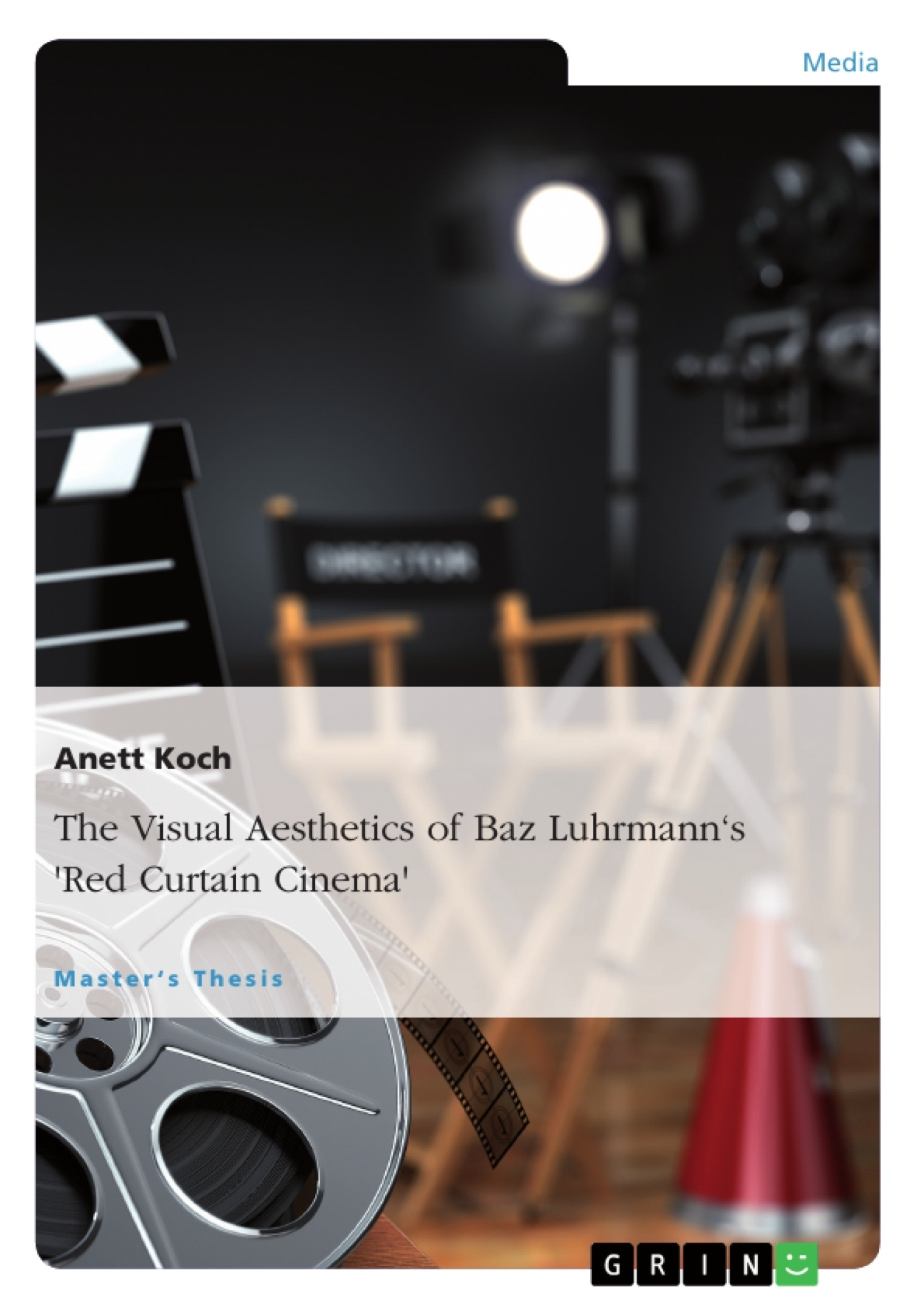 "Title: The Visual Aesthetics of Baz Luhrmann's ""Red Curtain Cinema"""