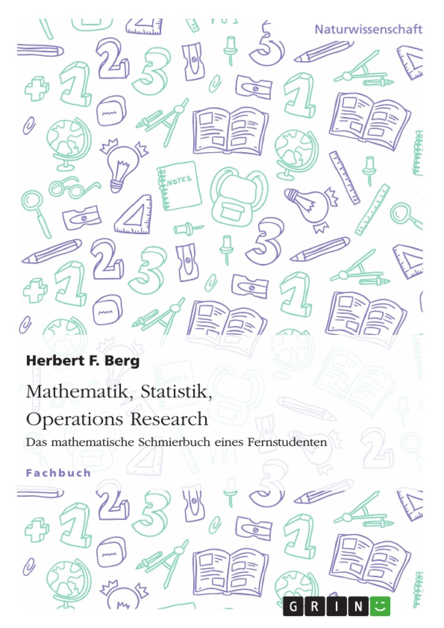 Mathematik, Statistik, Operations Research | Hausarbeiten publizieren
