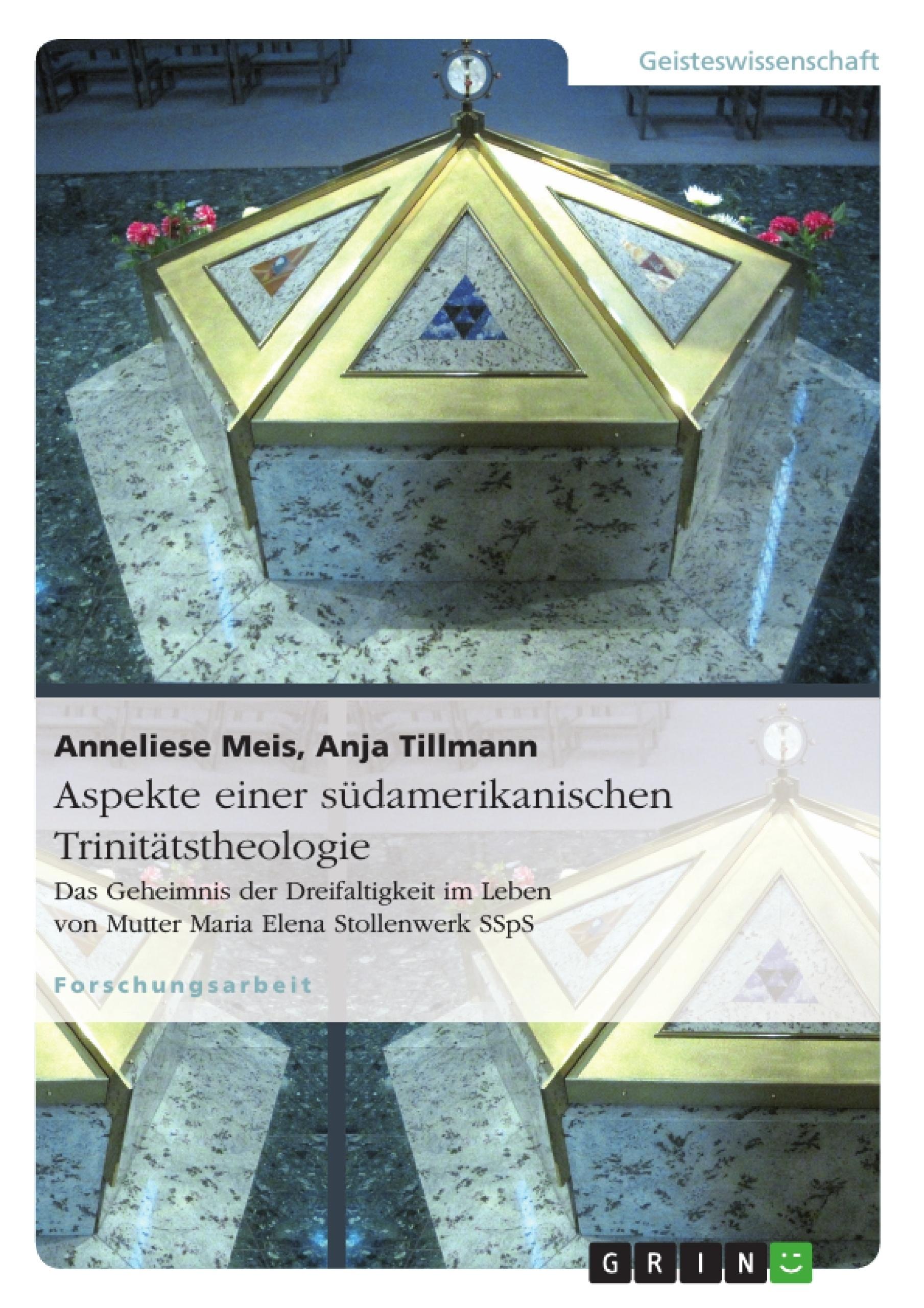 Titel: Aspekte einer südamerikanischen Trinitätstheologie
