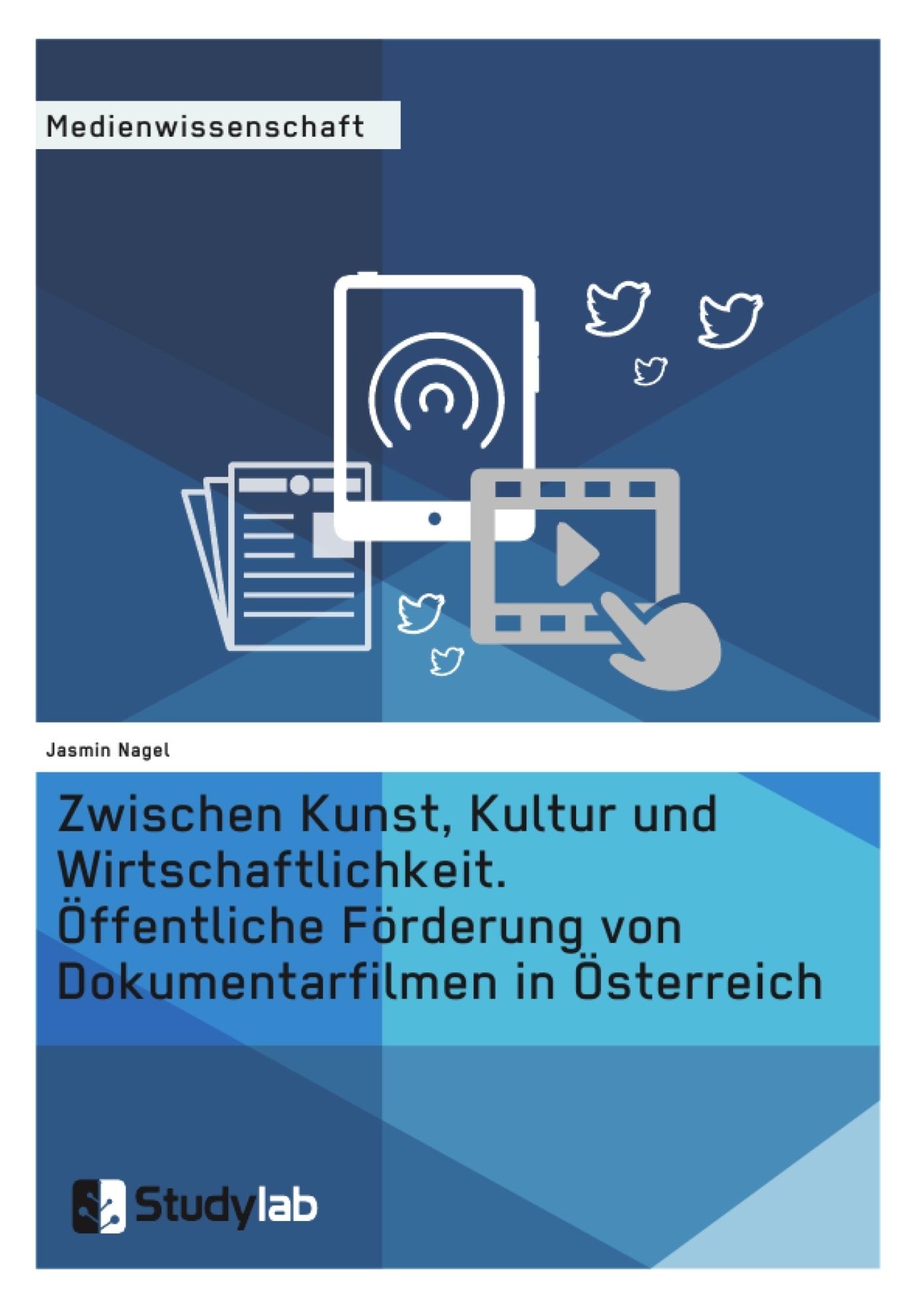 Titel: Zwischen Kunst, Kultur und Wirtschaftlichkeit. Öffentliche Förderung von Dokumentarfilmen in Österreich