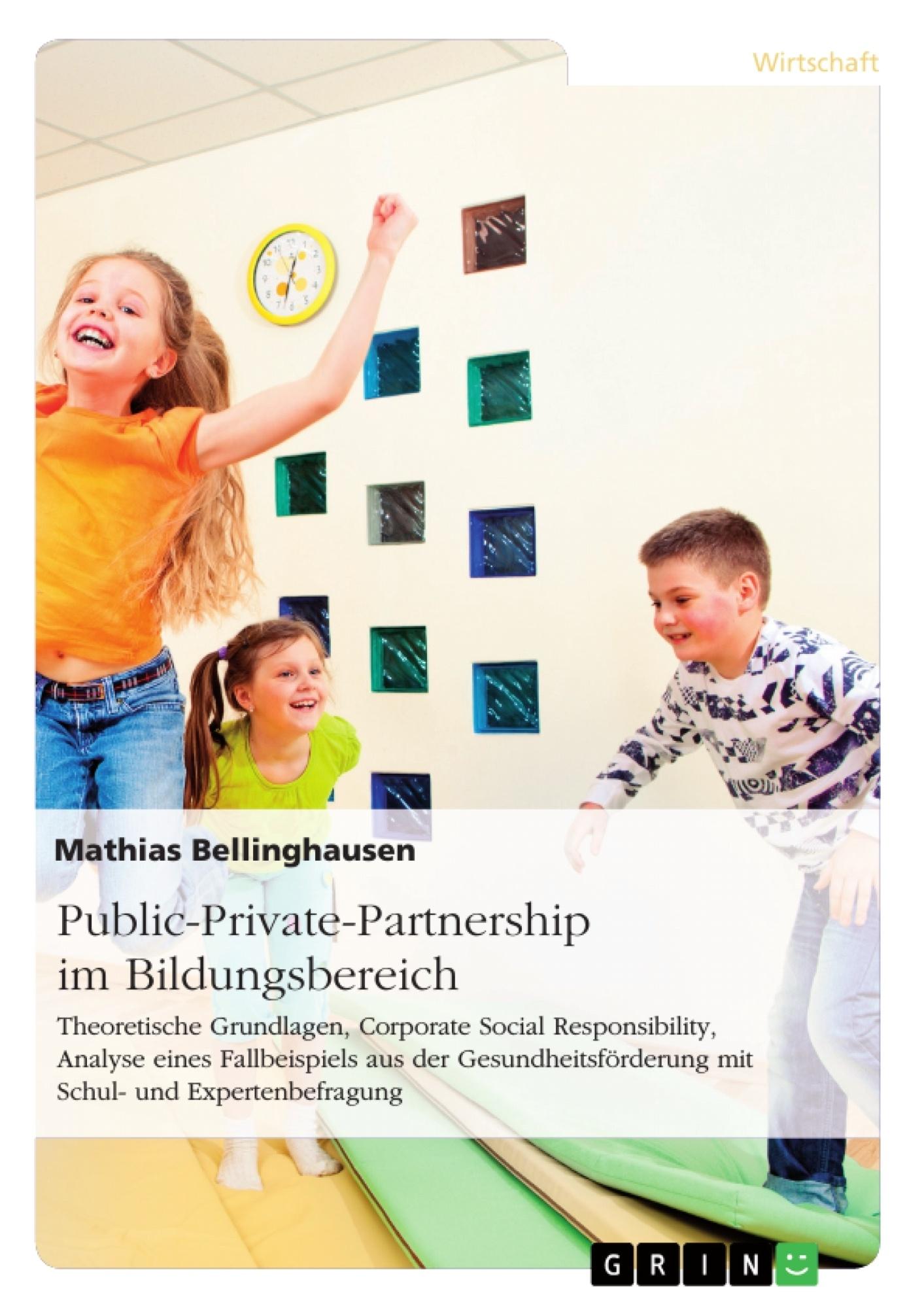 Titel: Public-Private-Partnership im Bildungsbereich