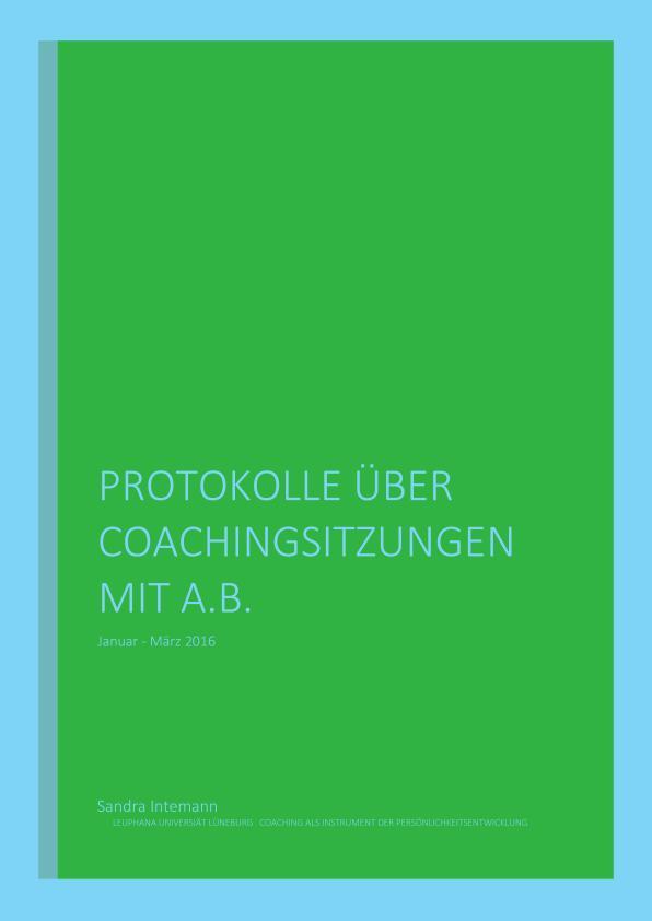 Titel: Coaching als Instrument der Persönlichkeitsentwicklung