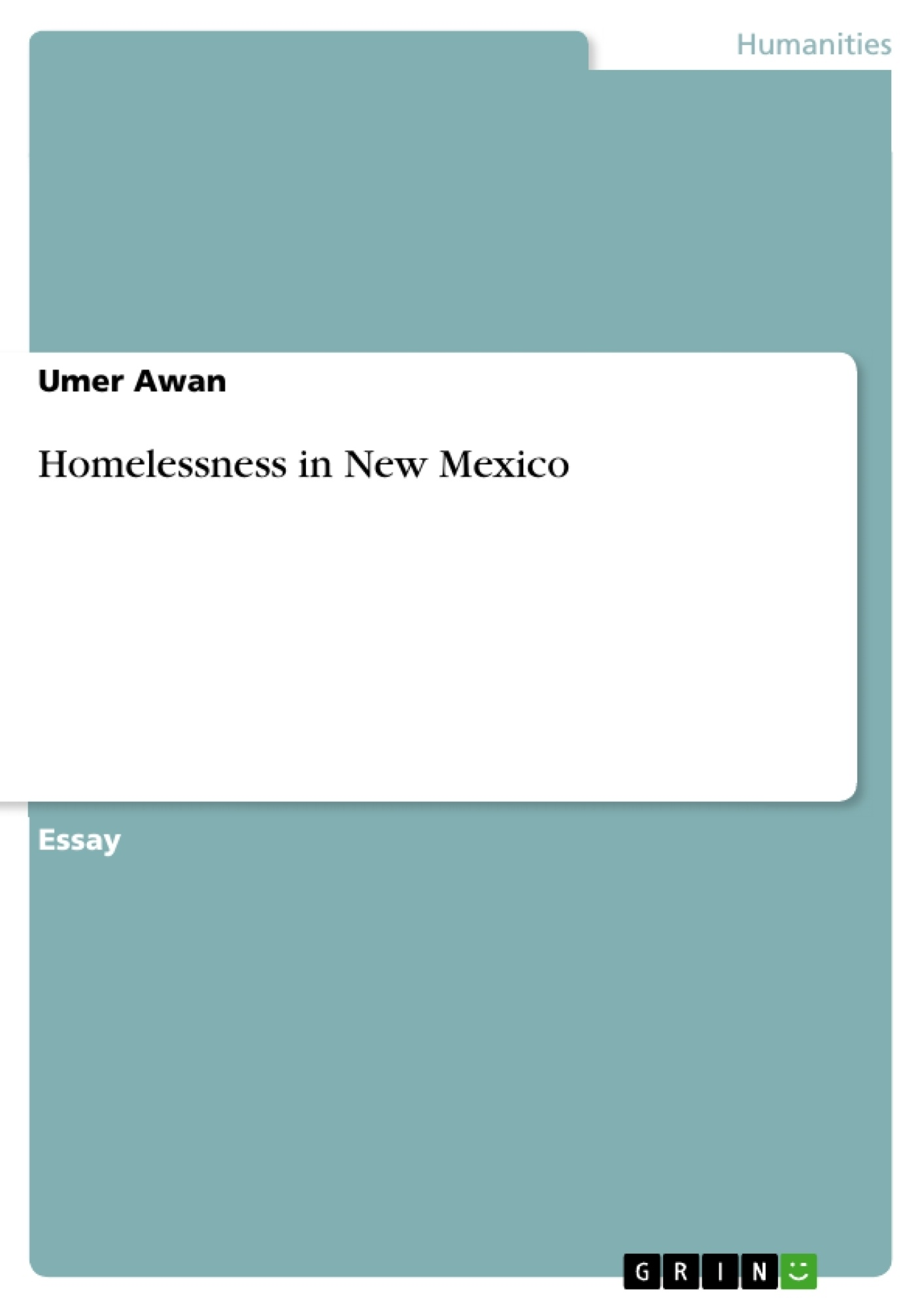 Title: Homelessness in New Mexico