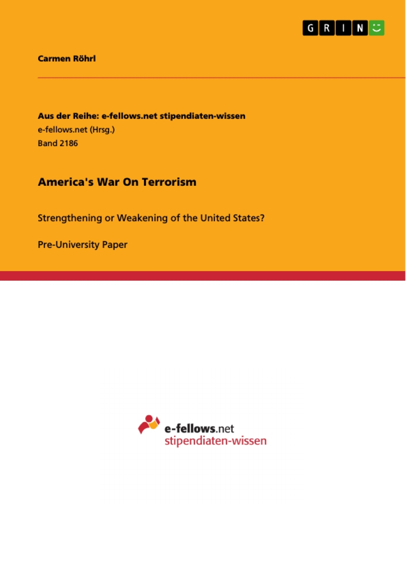 Title: America's War On Terrorism
