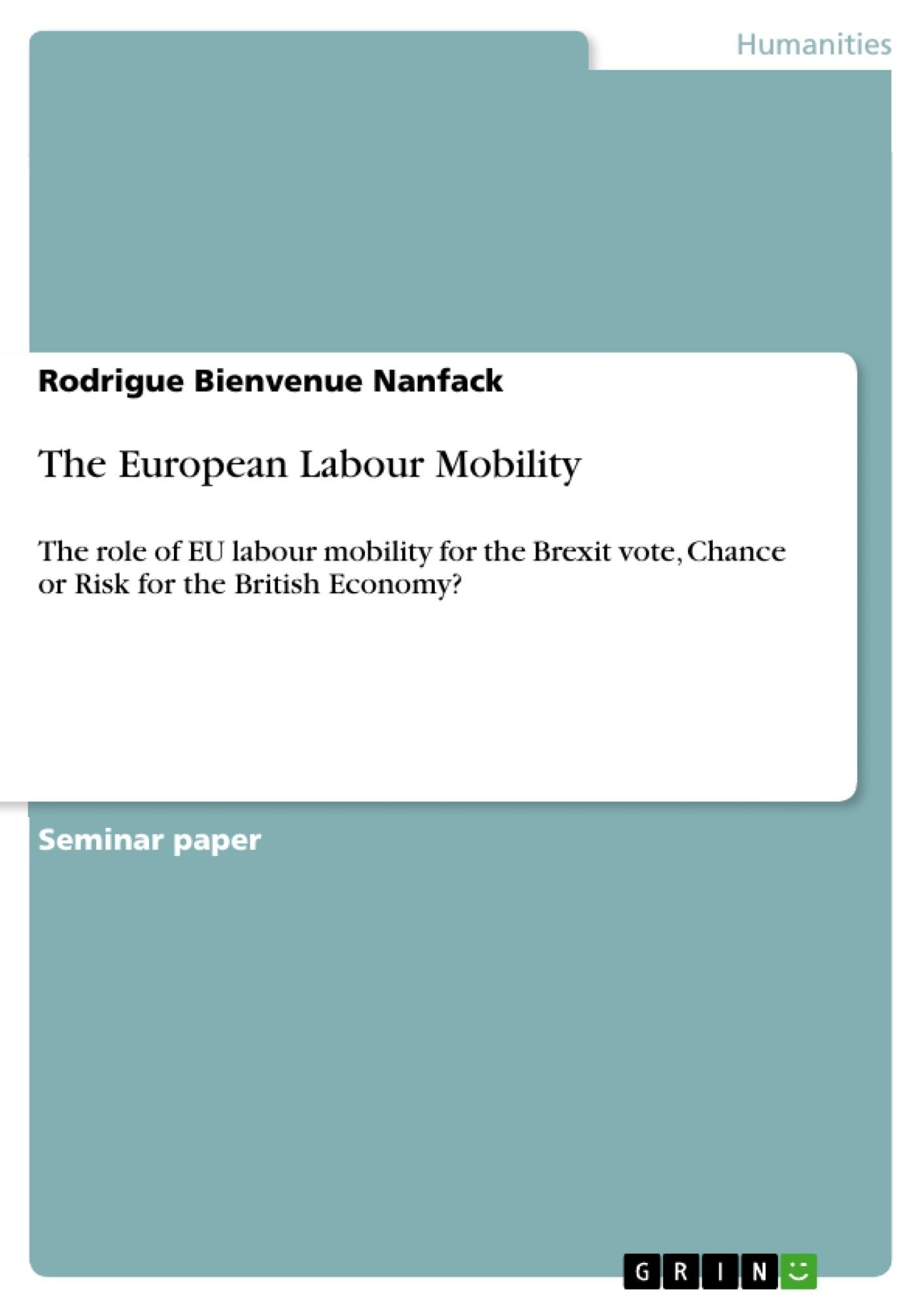 Title: The European Labour Mobility