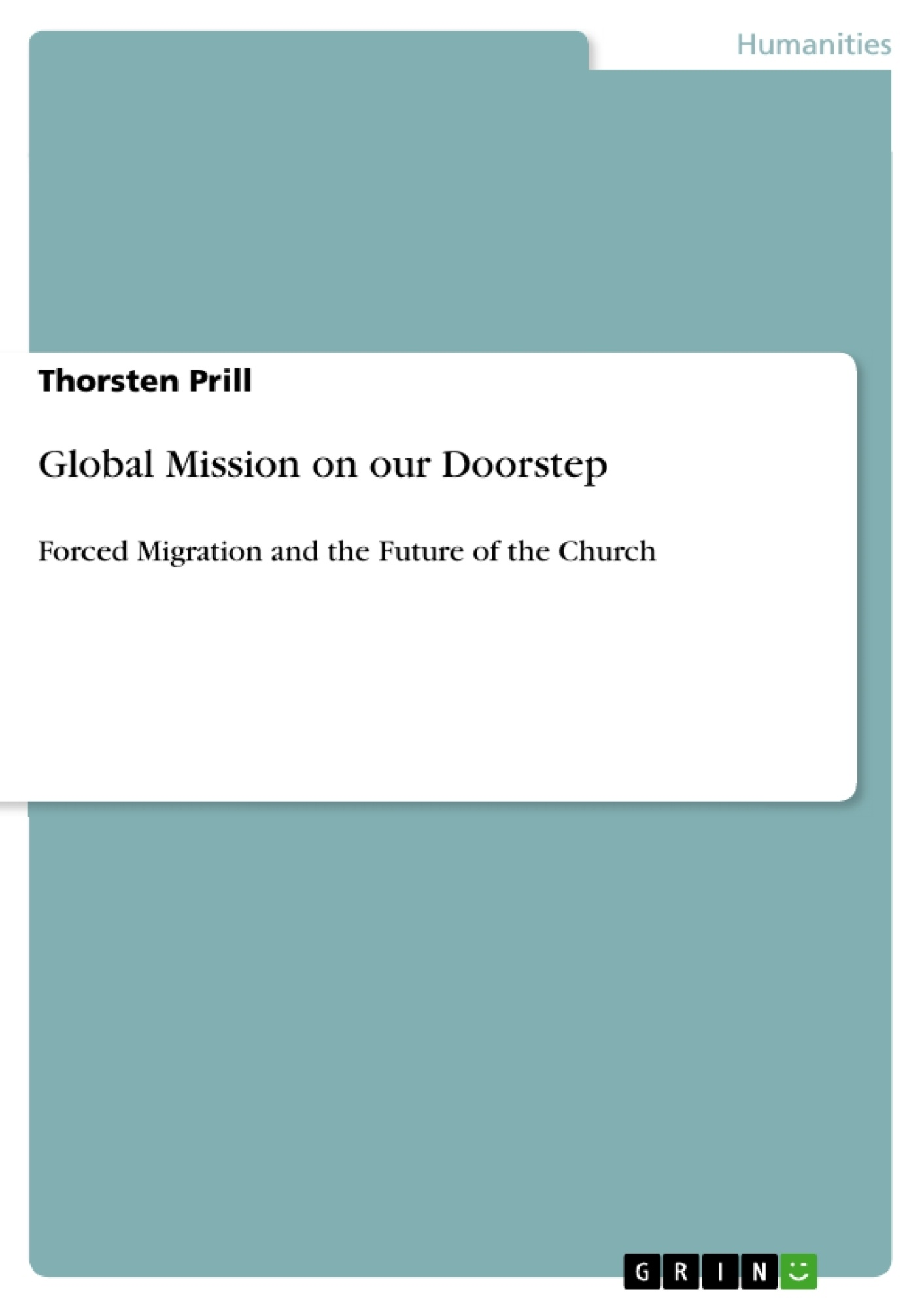 Title: Global Mission on our Doorstep