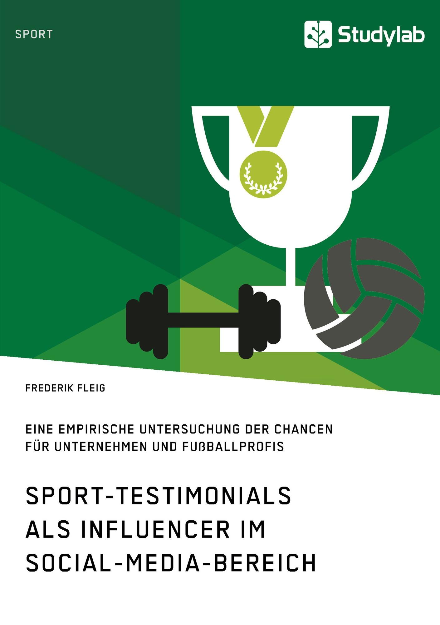 Titel: Sport-Testimonials als Influencer im Social-Media-Bereich
