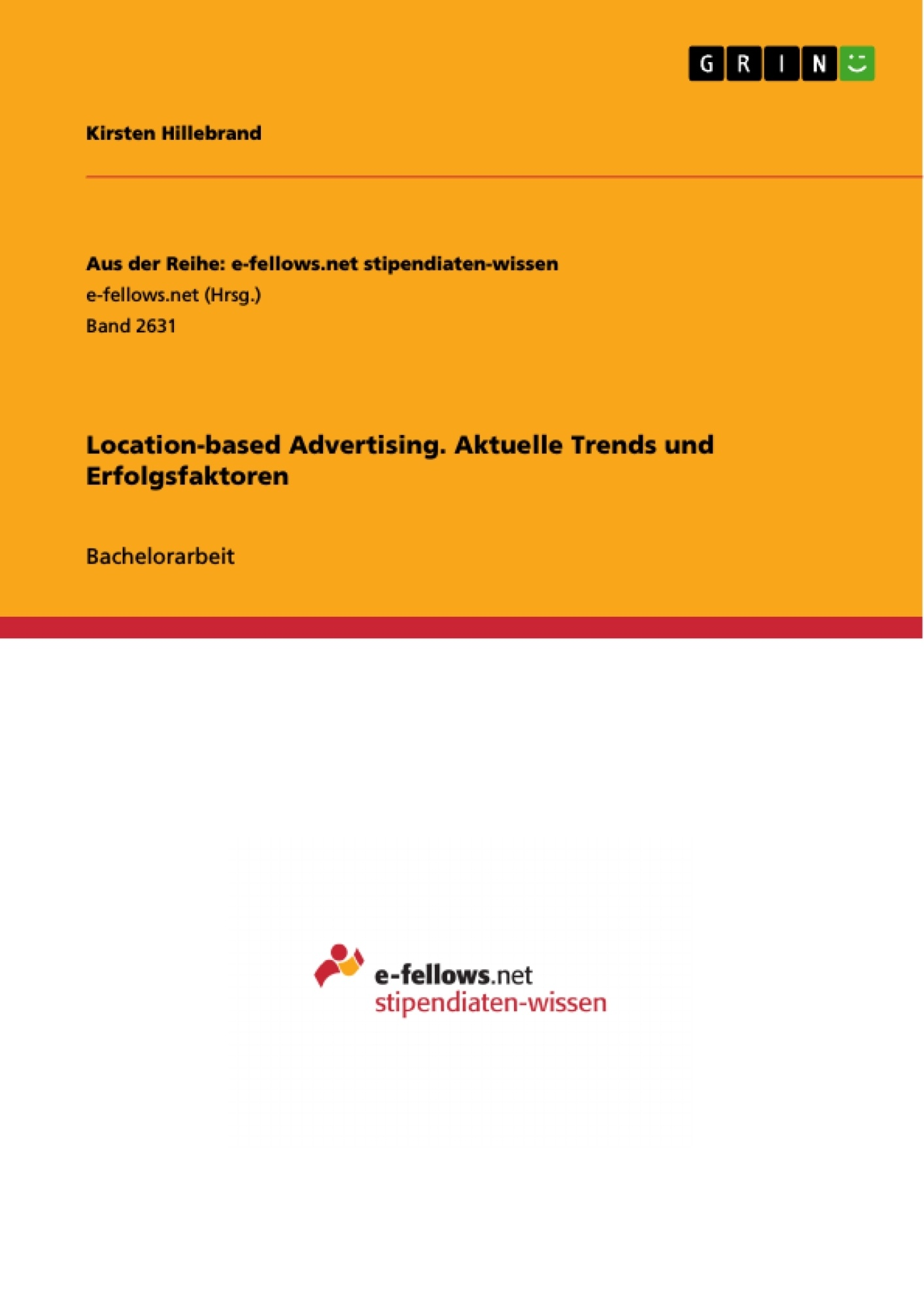 Titel: Location-based Advertising. Aktuelle Trends und Erfolgsfaktoren