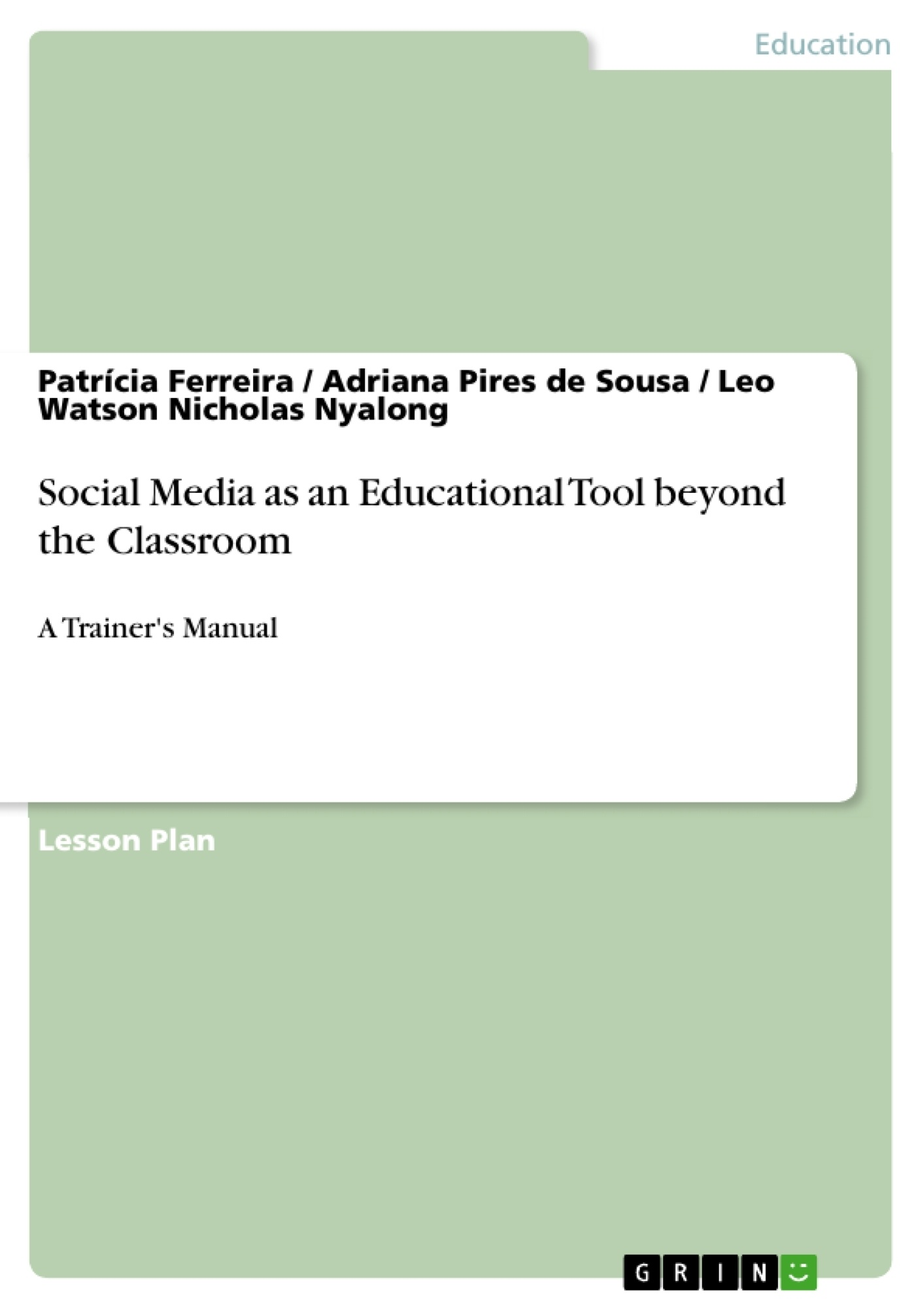 Title: Social Media as an Educational Tool beyond the Classroom