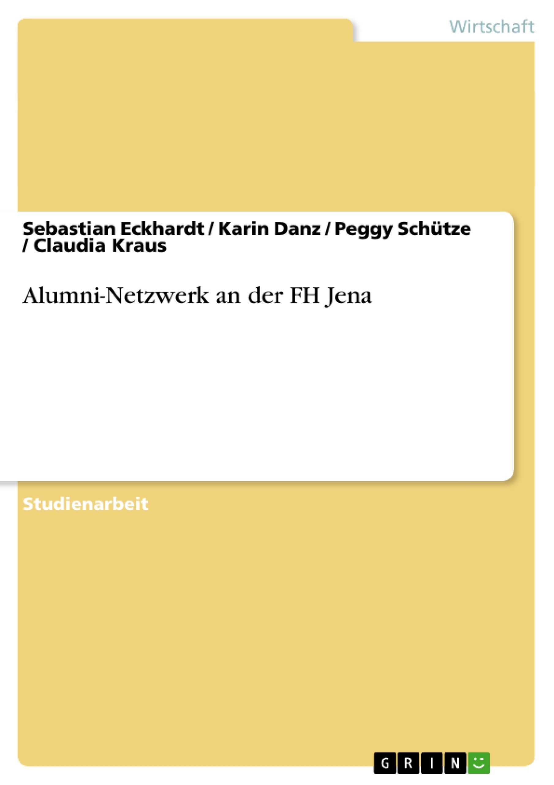 Alumni-Netzwerk an der FH Jena   Masterarbeit, Hausarbeit ...