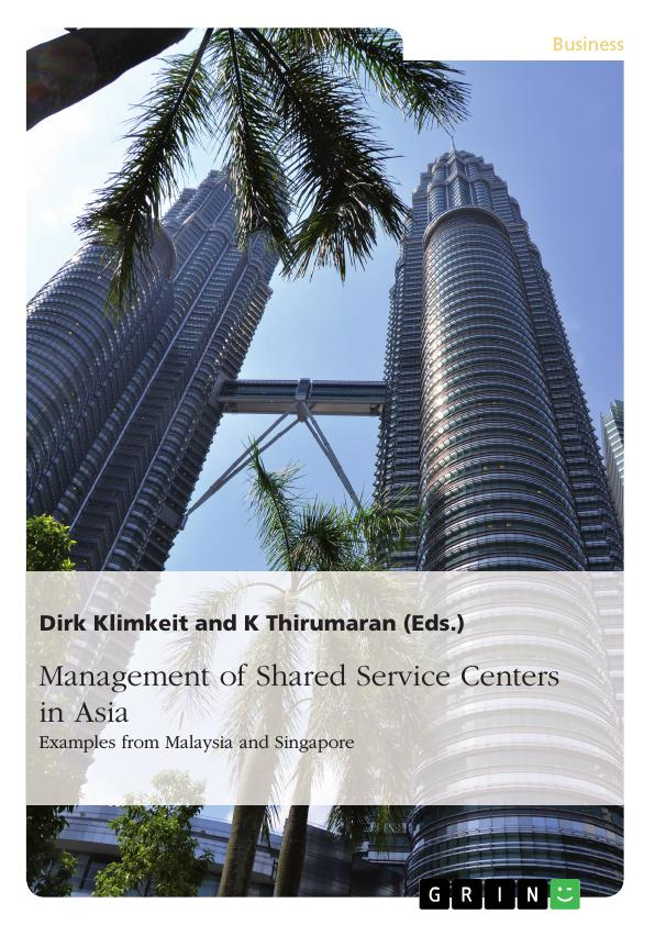 Title: Management of Shared Service Centers in Asia