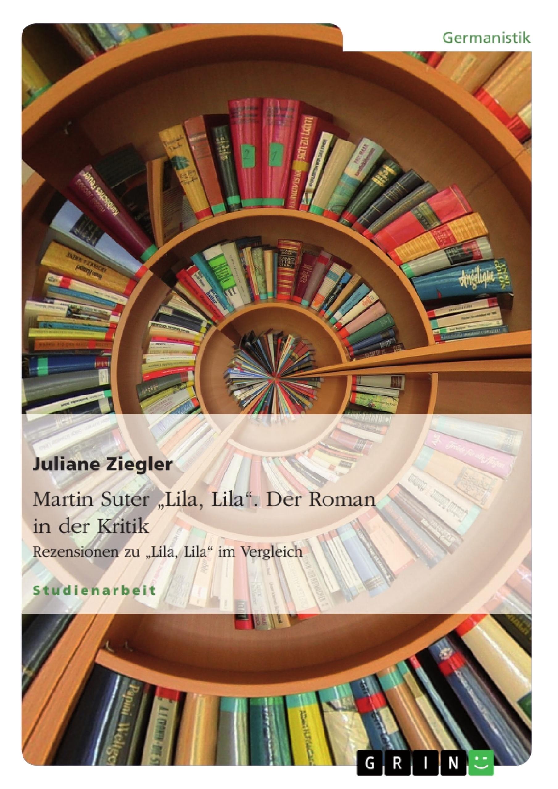 """Martin Suter """"Lila Lila"""" Der Roman In Der Kritik"""